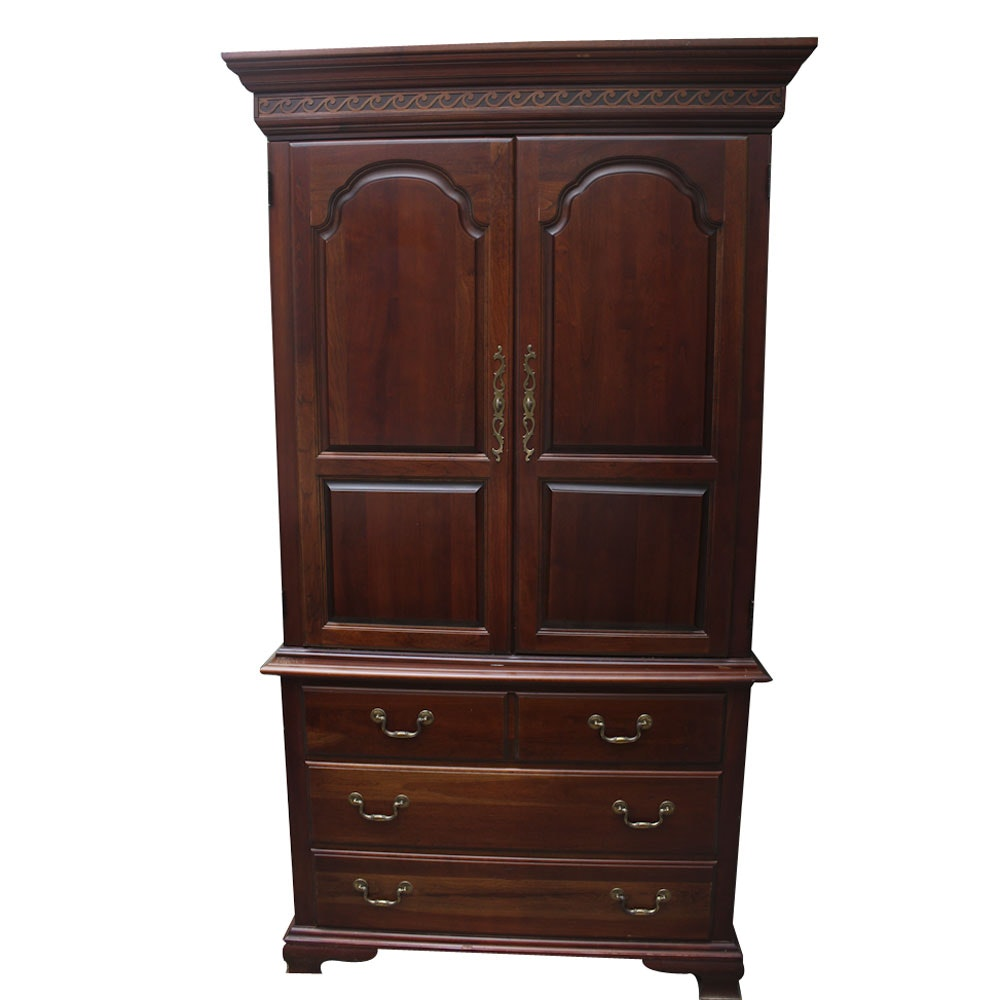 Chippendale Style Media Armoire by Pennsylvania House
