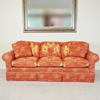 Taylor King Custom Upholstered Three Seat Sofa ...