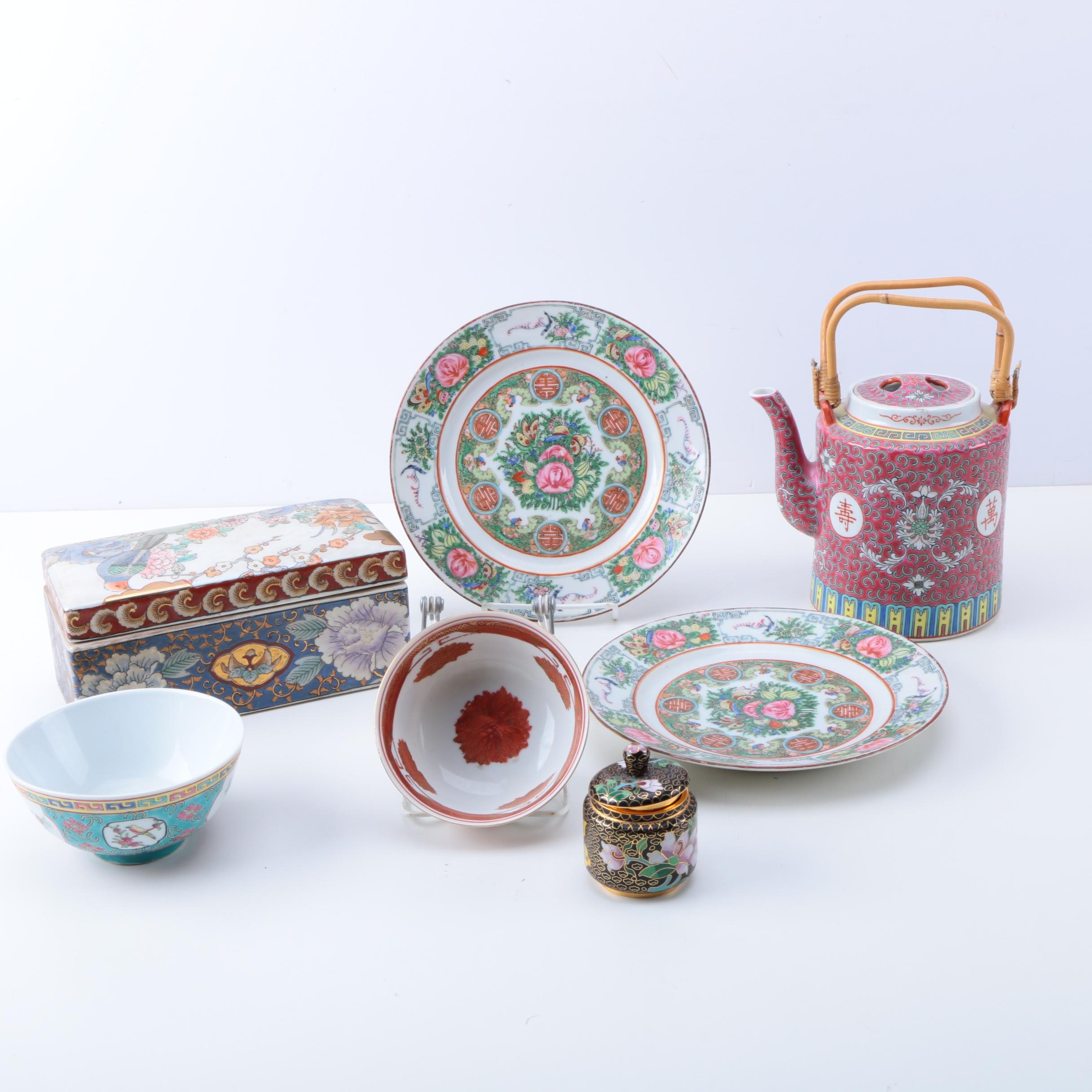 Chinese and Japanese Ceramic and Metal Décor