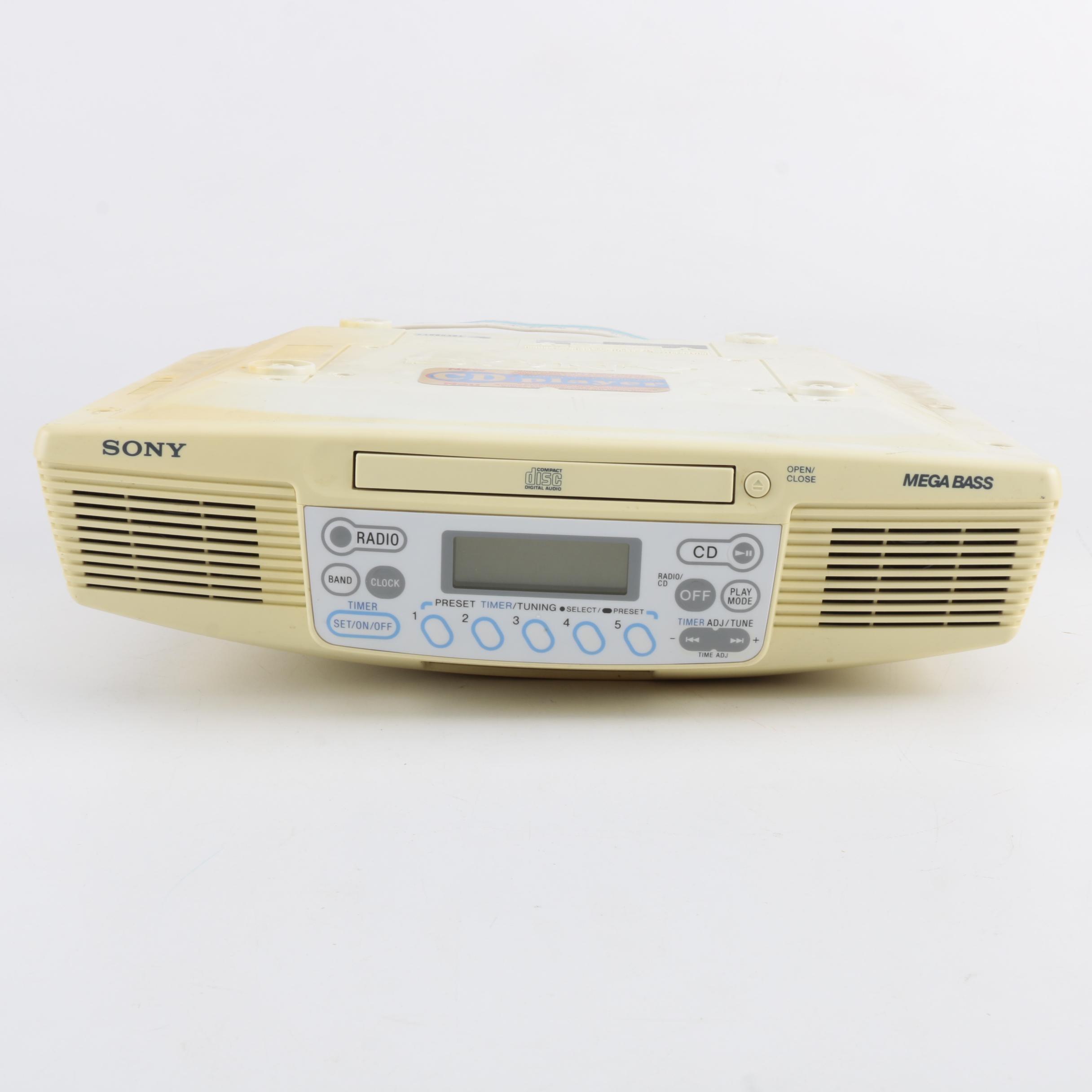 Sony Mega Bass CD and Radio Player