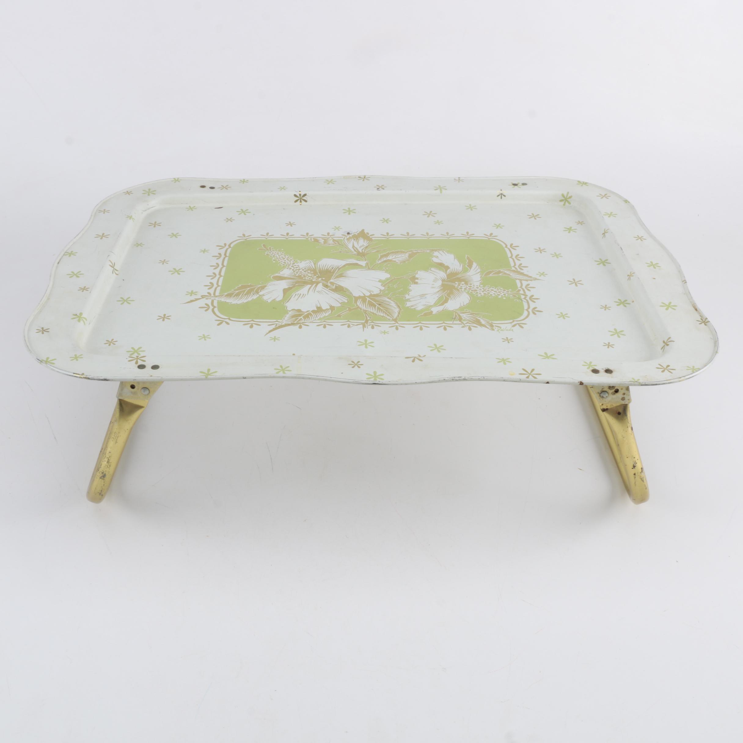 Vintage LaVada Folding Lap Tray