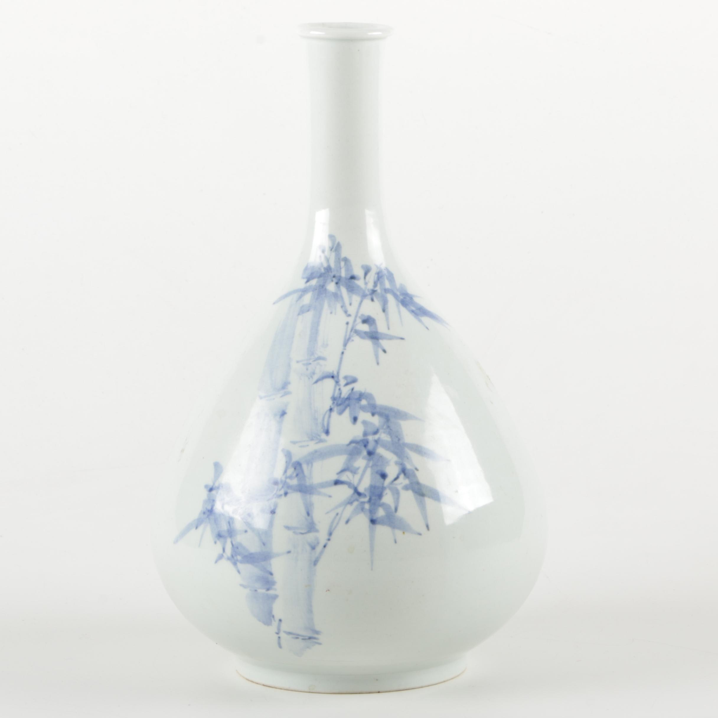 Japanese Ceramic Bud Vase