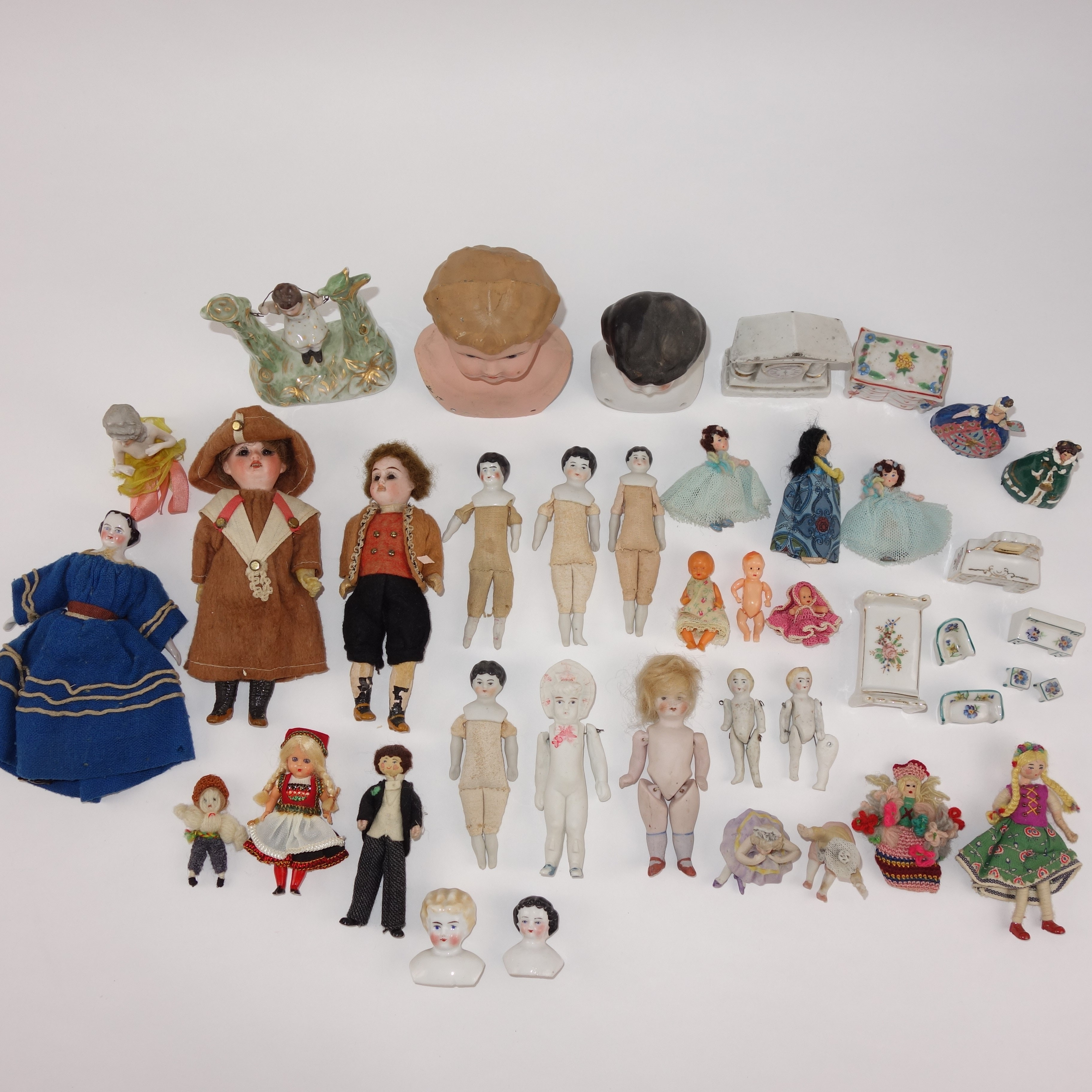 Antique and Vintage Doll Collection