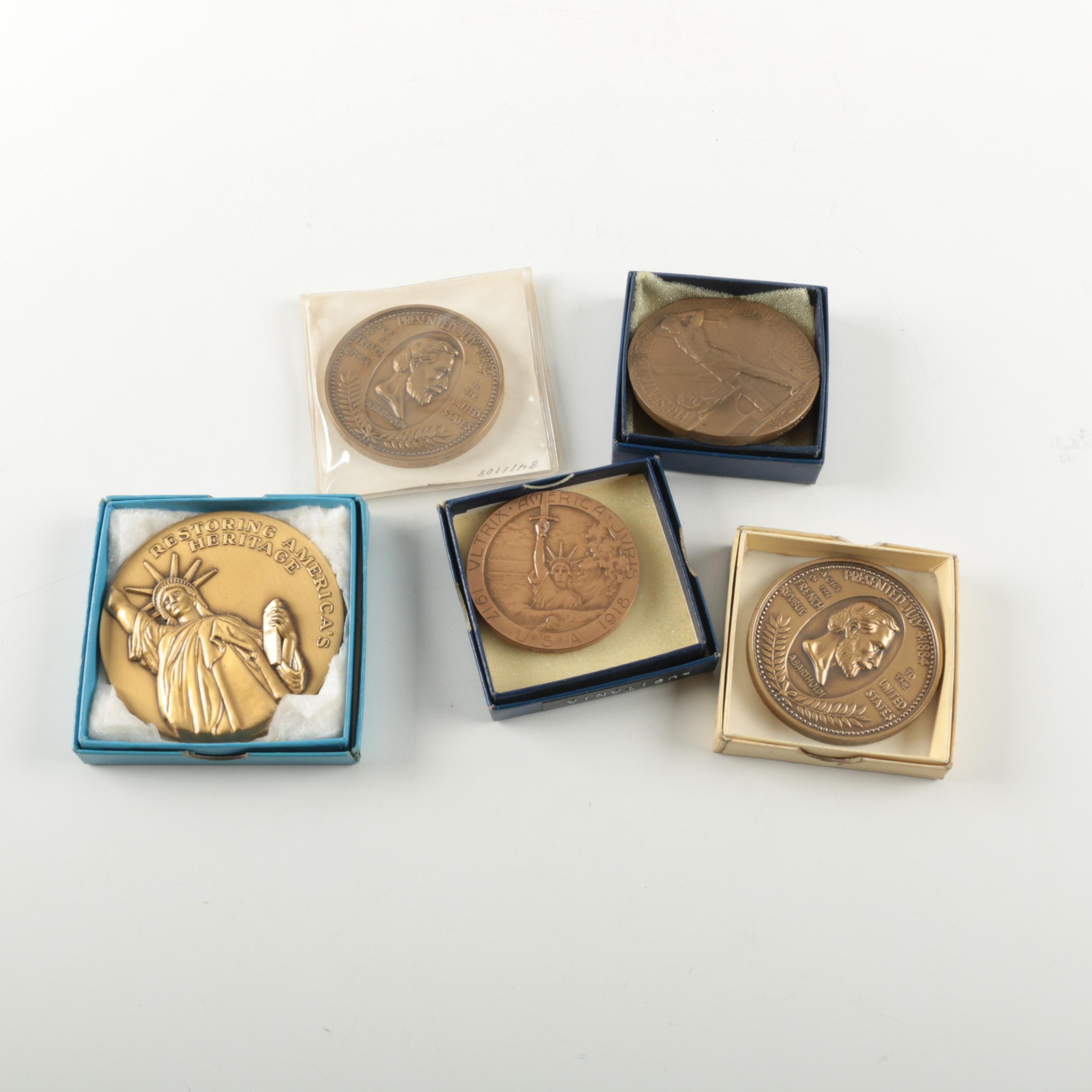 Five Commemorative Medals