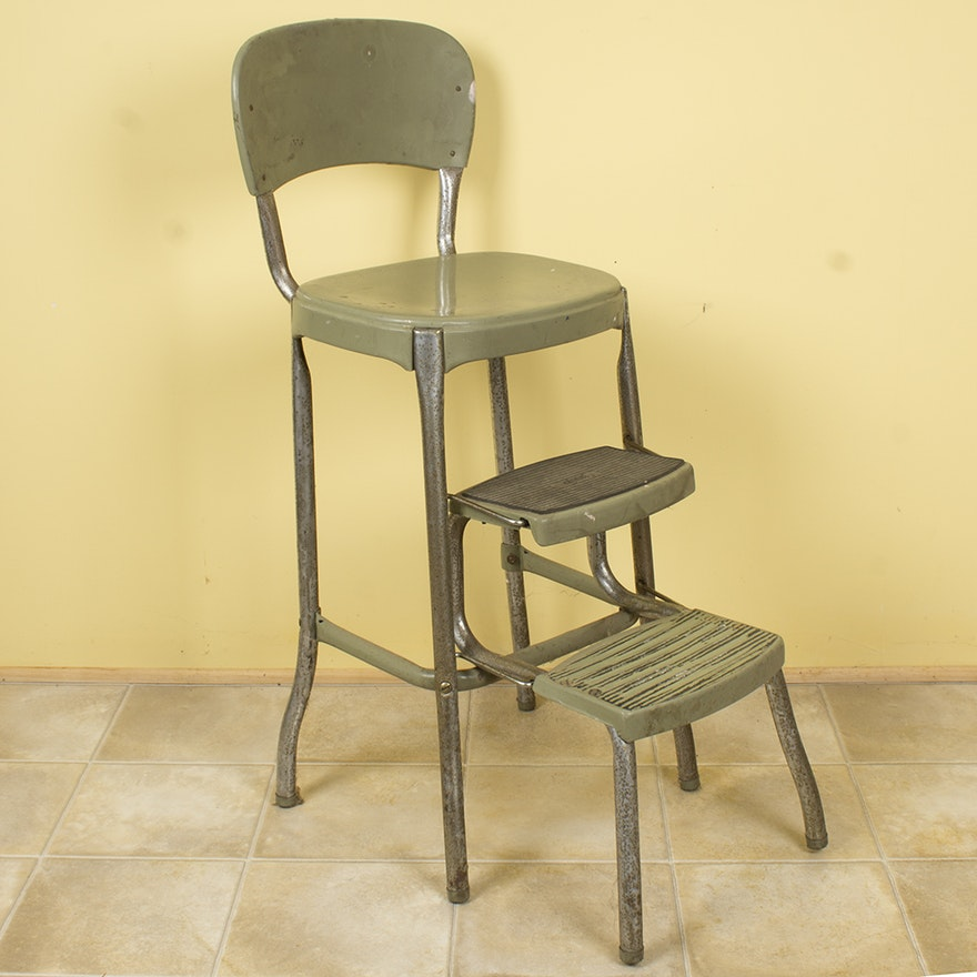 Retro Step Stool Chair by Stylaire ... - Retro Step Stool Chair By Stylaire : EBTH