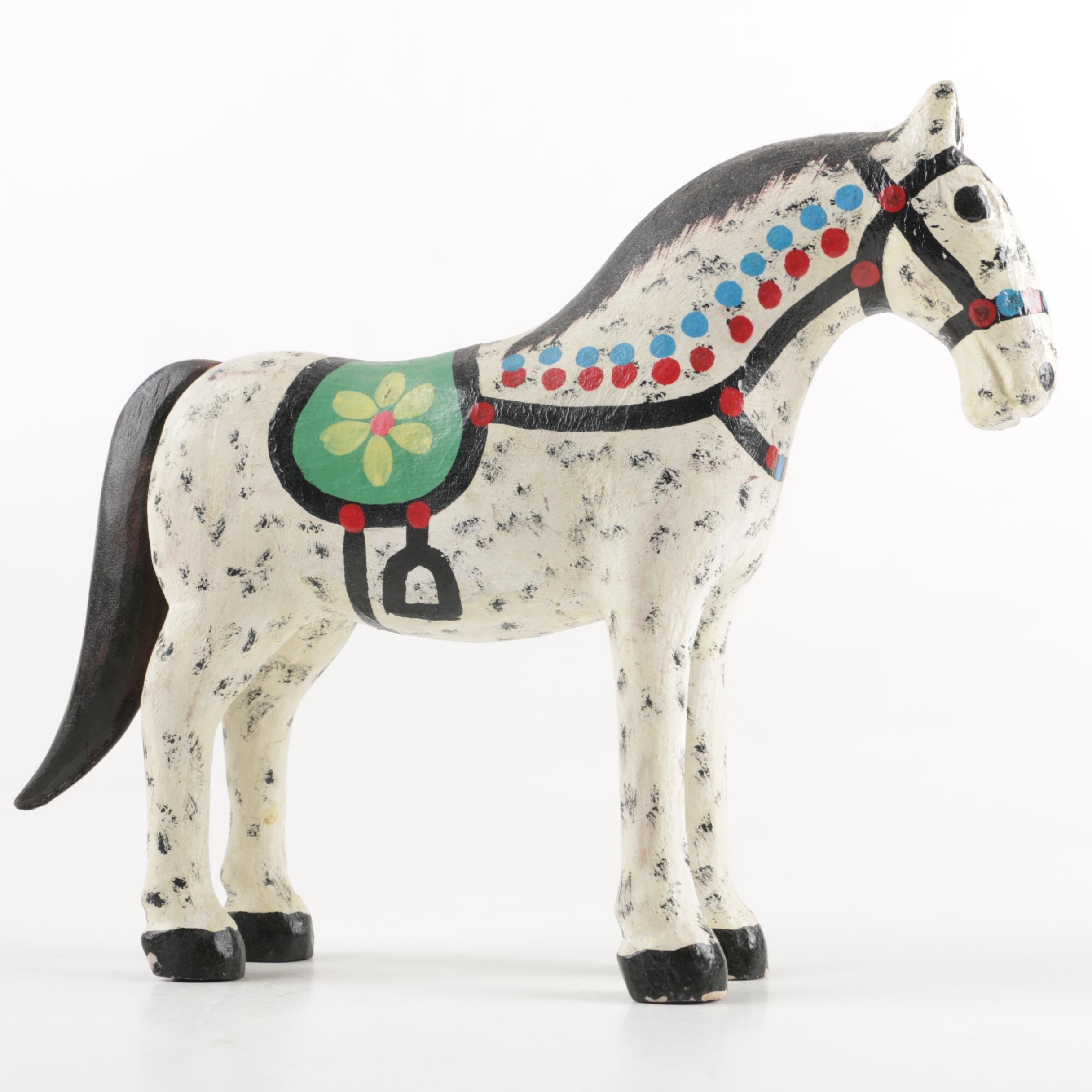 Decorative Wooden Horse