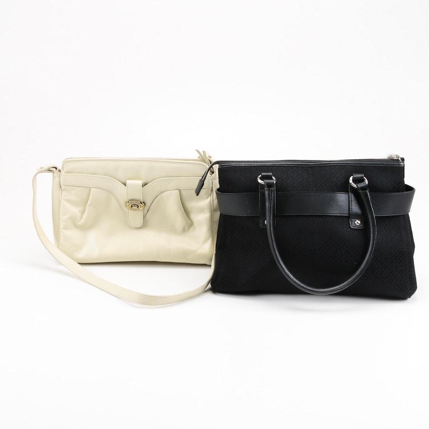 Etienne Aigner And Talbot Handbags