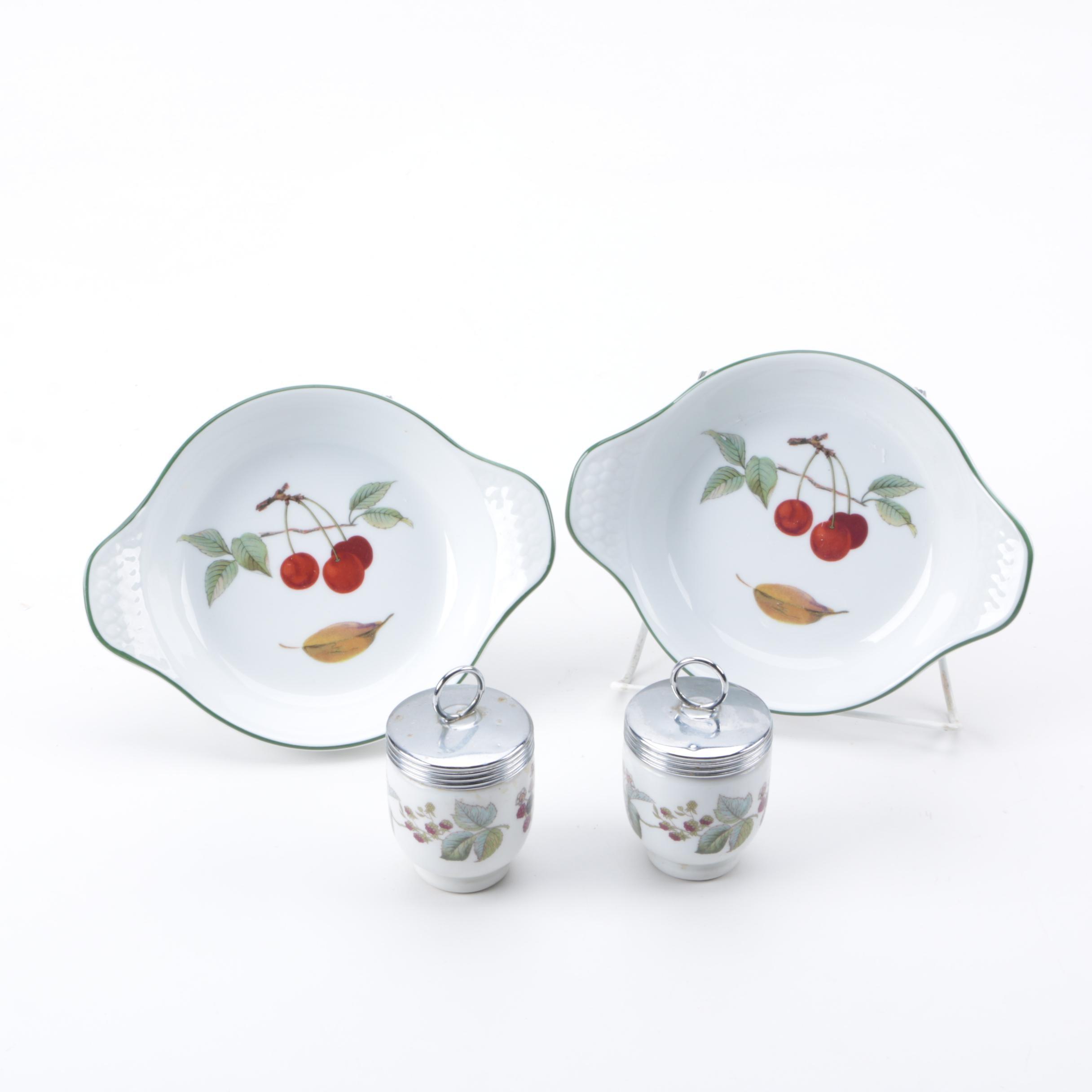 Royal Worcester Ceramic Tableware