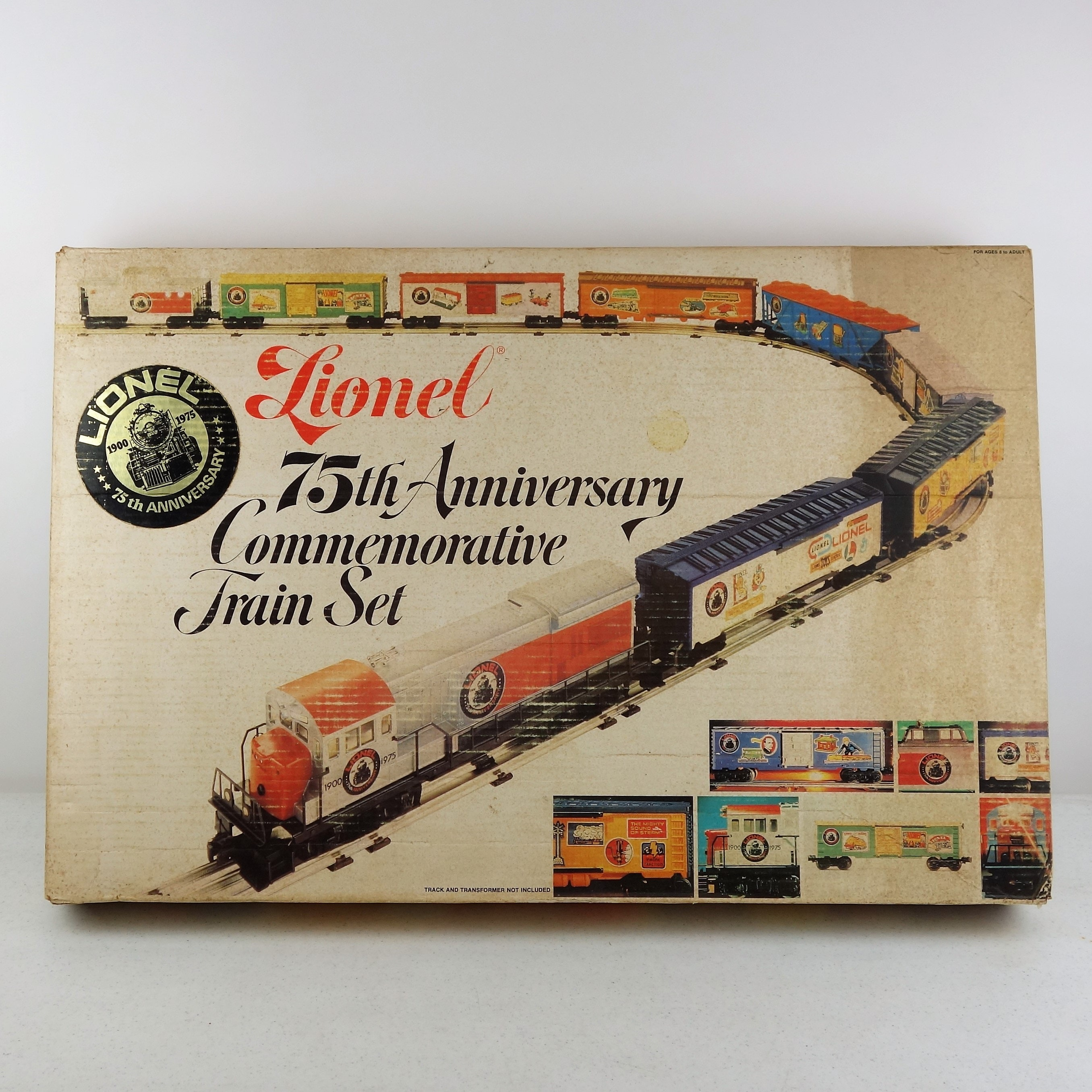 Lionel 75th Anniversary Commemorative Train Set