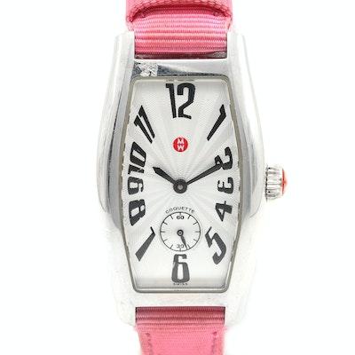 Michele & Co. Stainless Steel Wristwatch