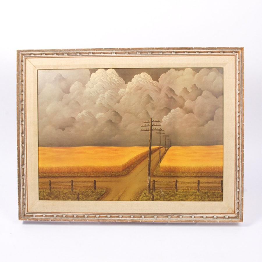 Framed Giclée Print After John Rogers Cox