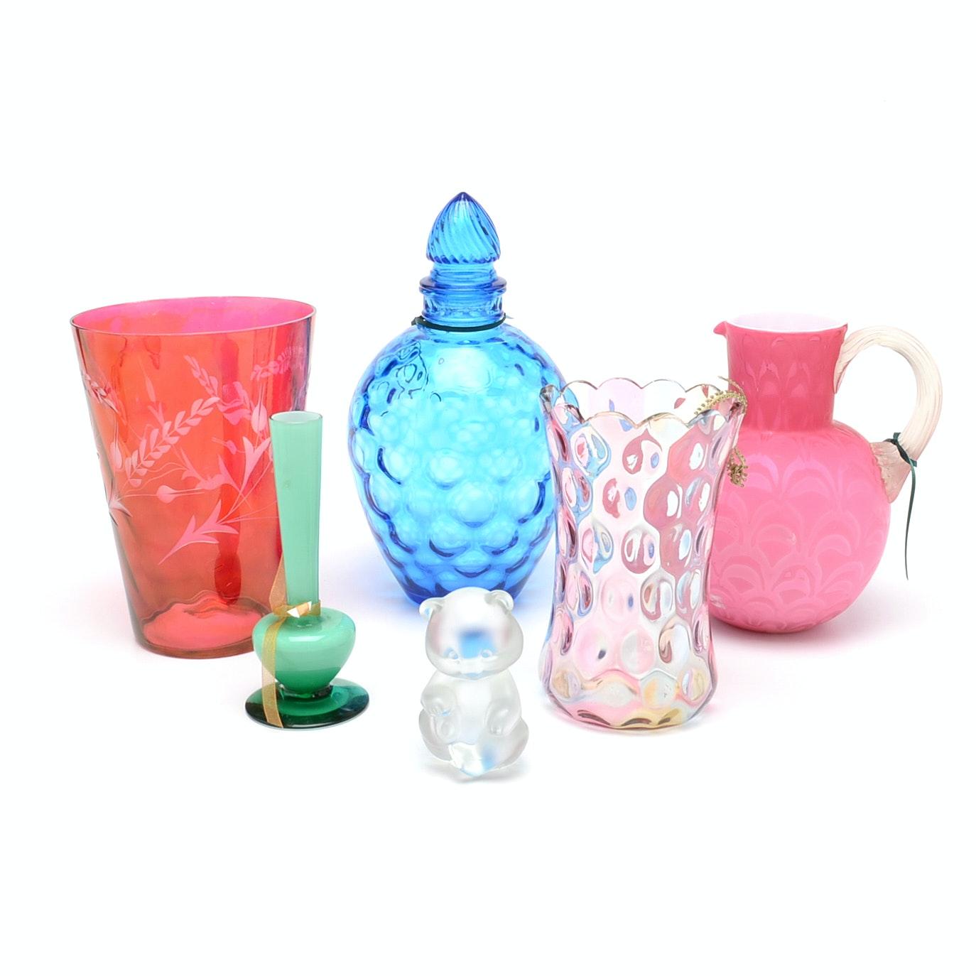 Assorted Art Glass