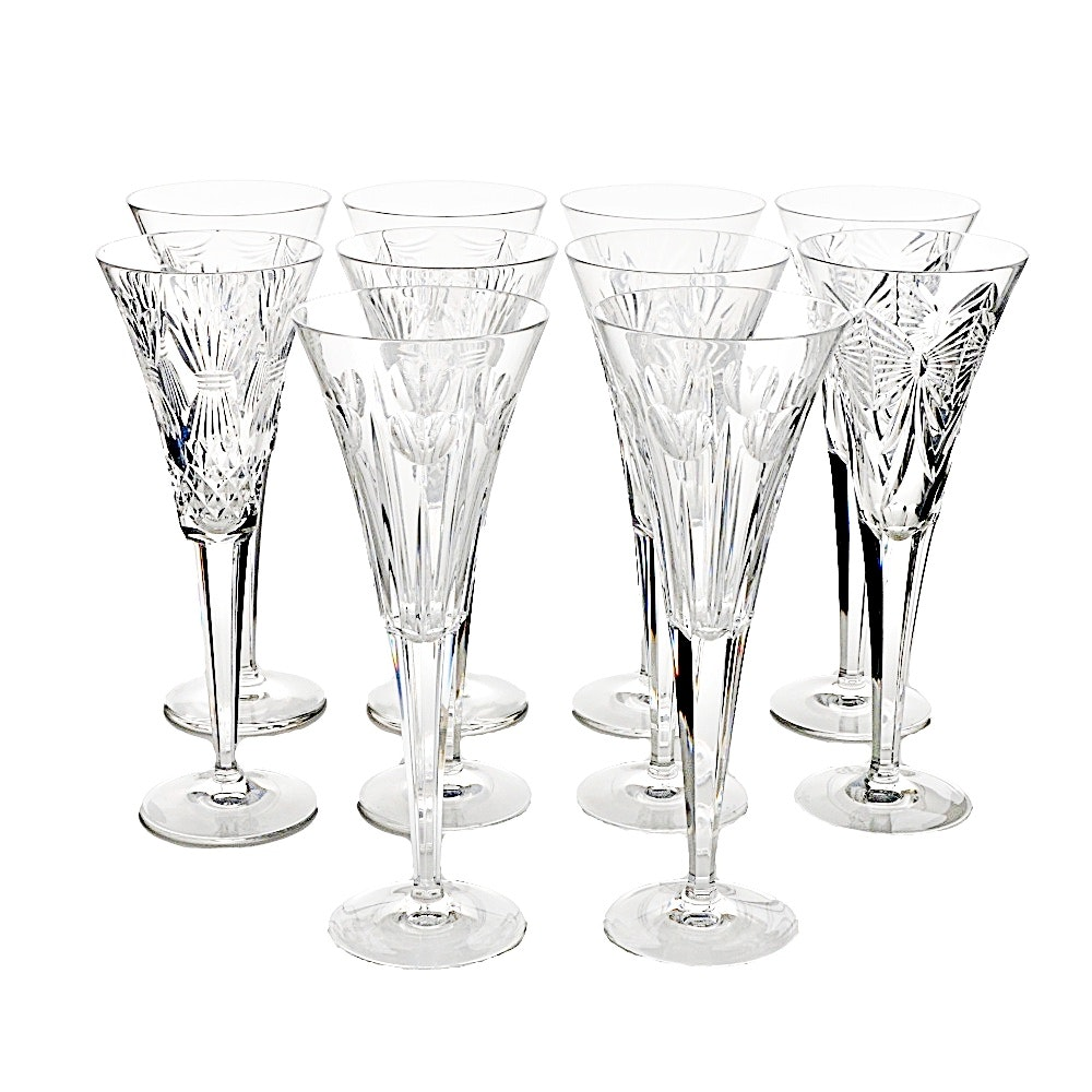 Waterford Millennium Toasting Flutes