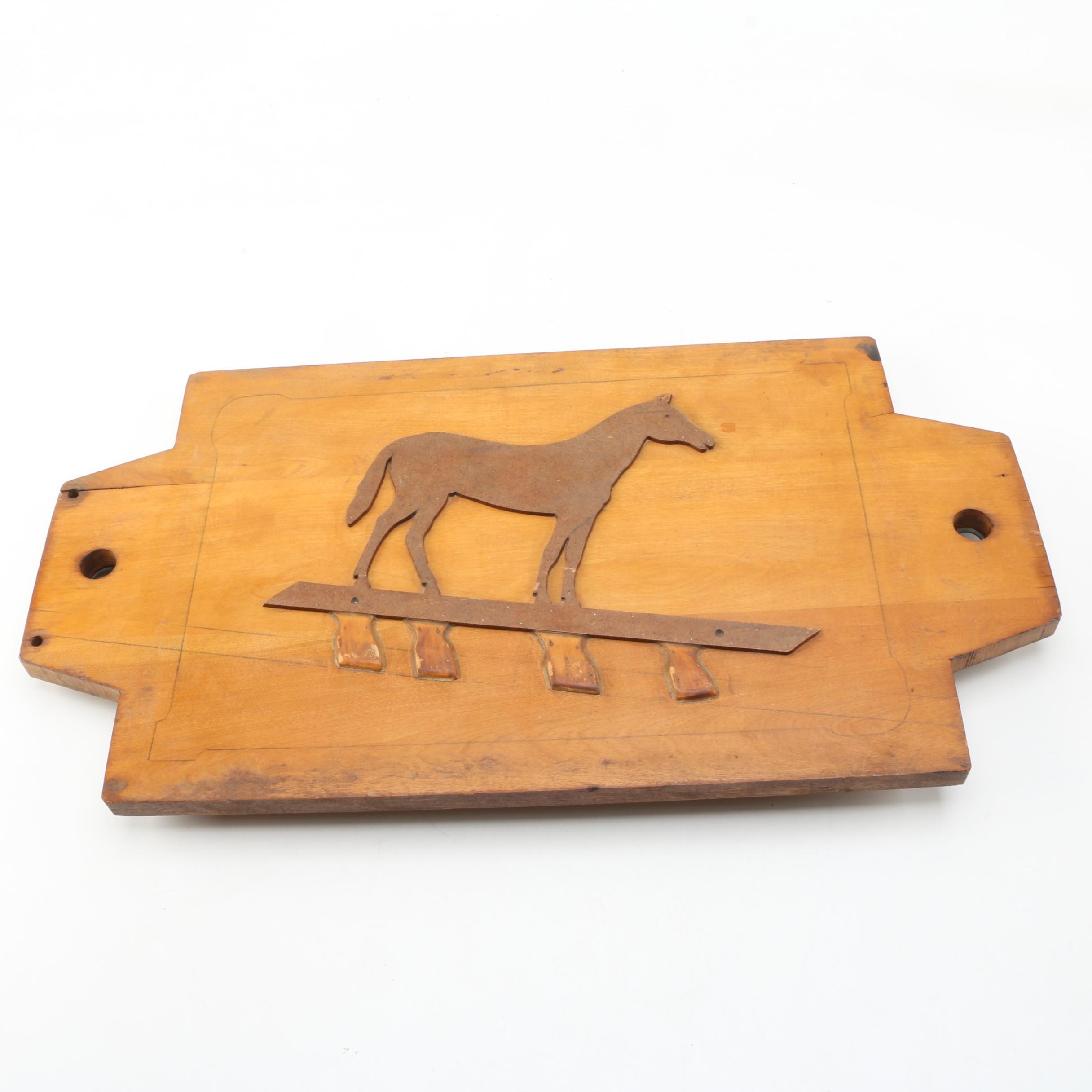 Decorative Wooden Plaque