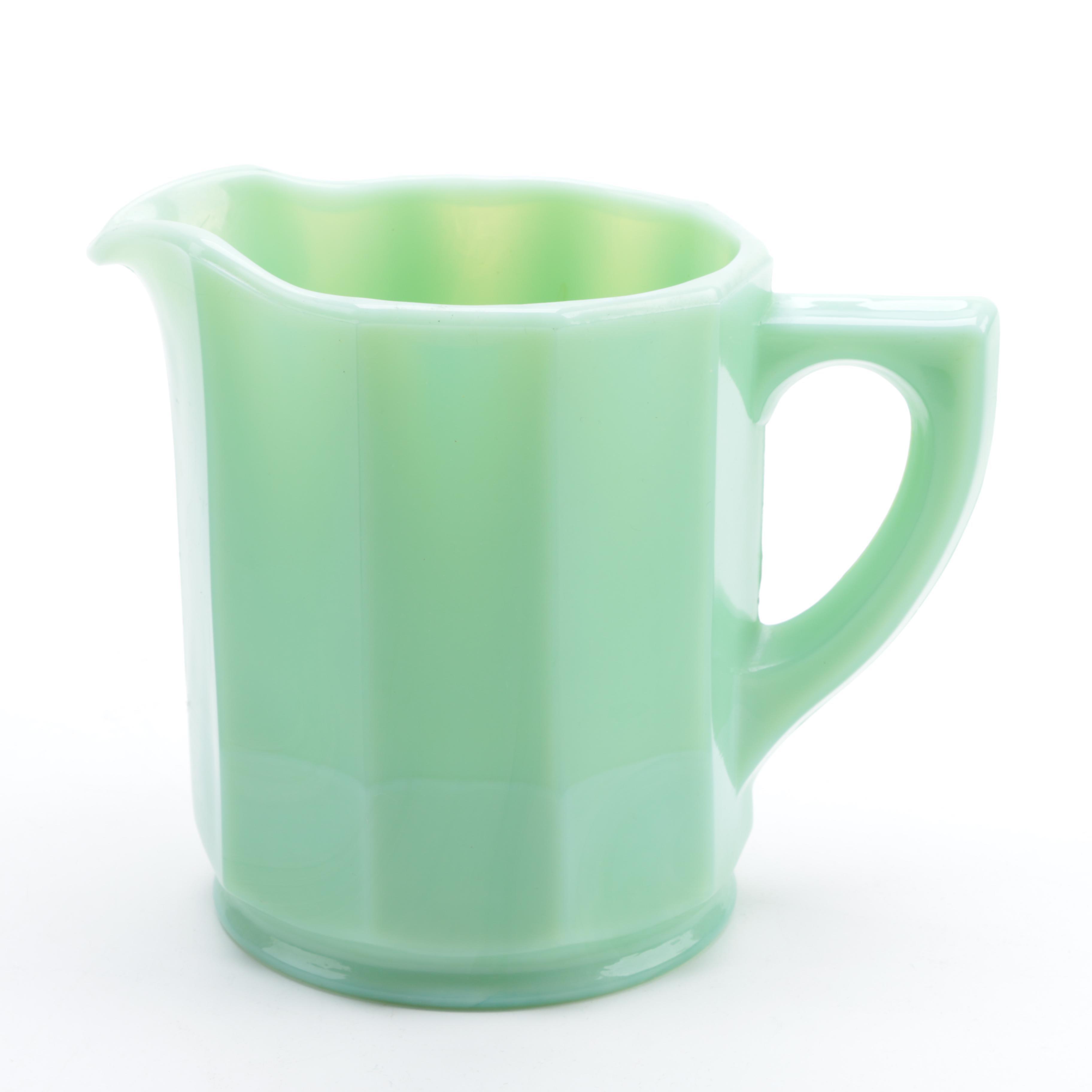 Jadeite Pitcher