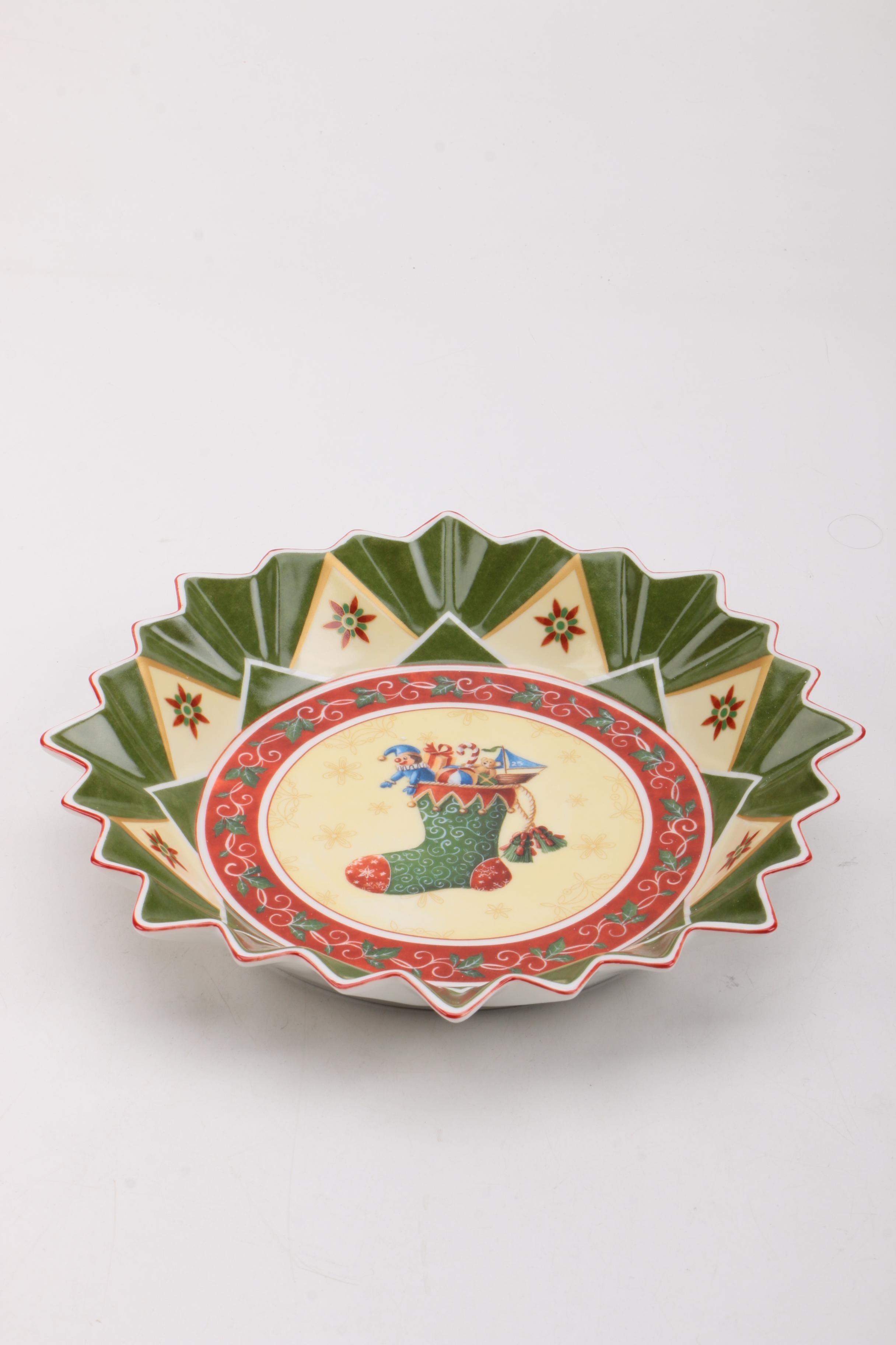 "Villeroy & Boch ""Toy's Fantasy"" Ceramic Plate"
