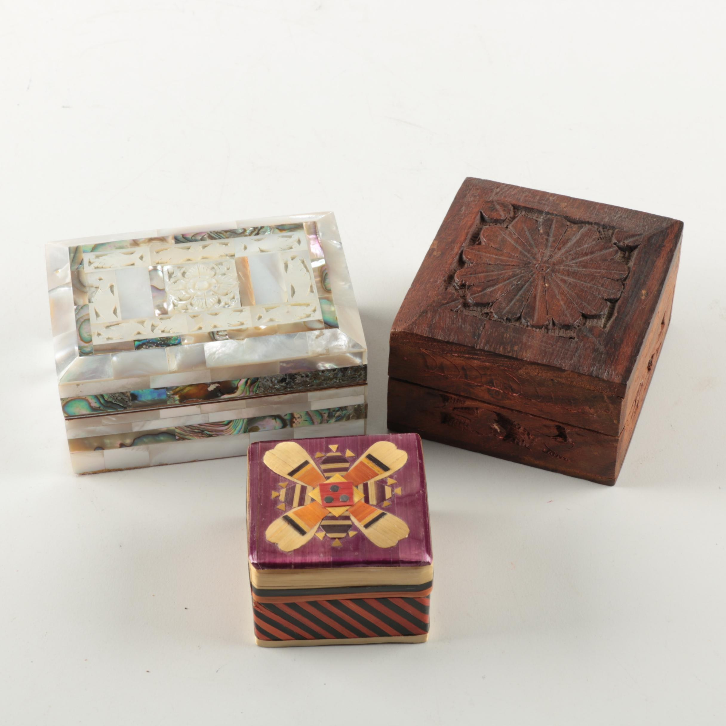 Assorted Trinket Boxes