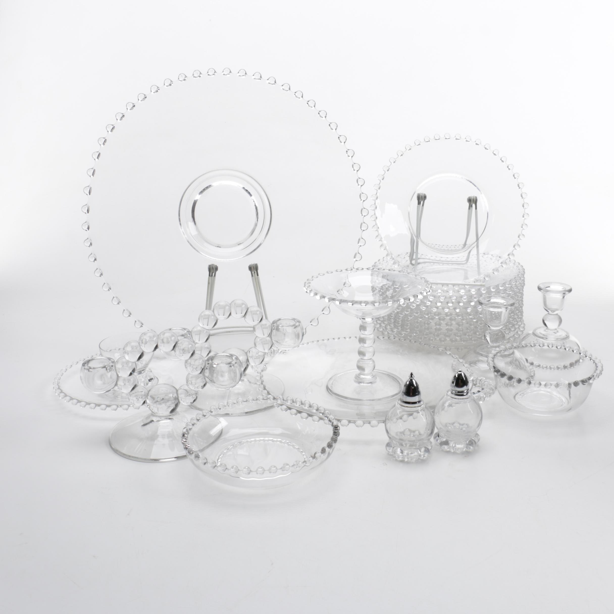"Imperial Glass ""Candlewick"" Glassware"