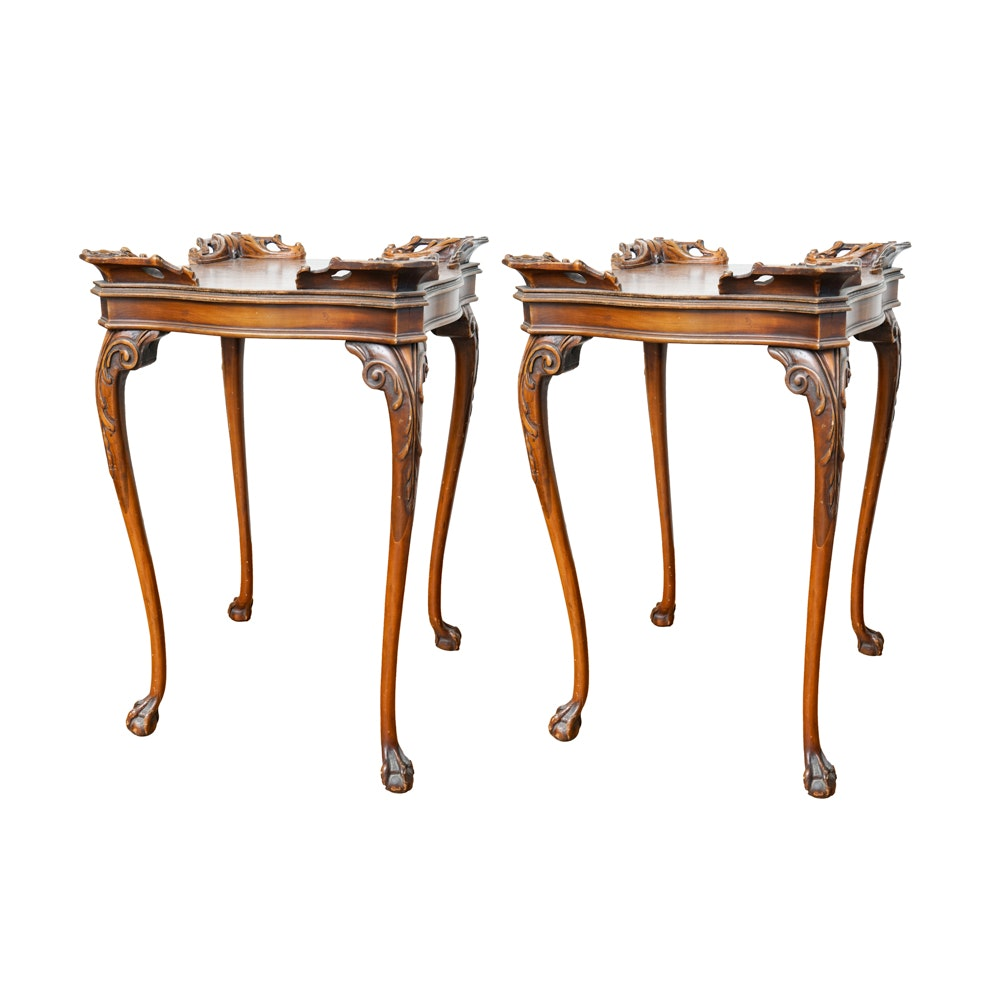 Rococo Style End Tables