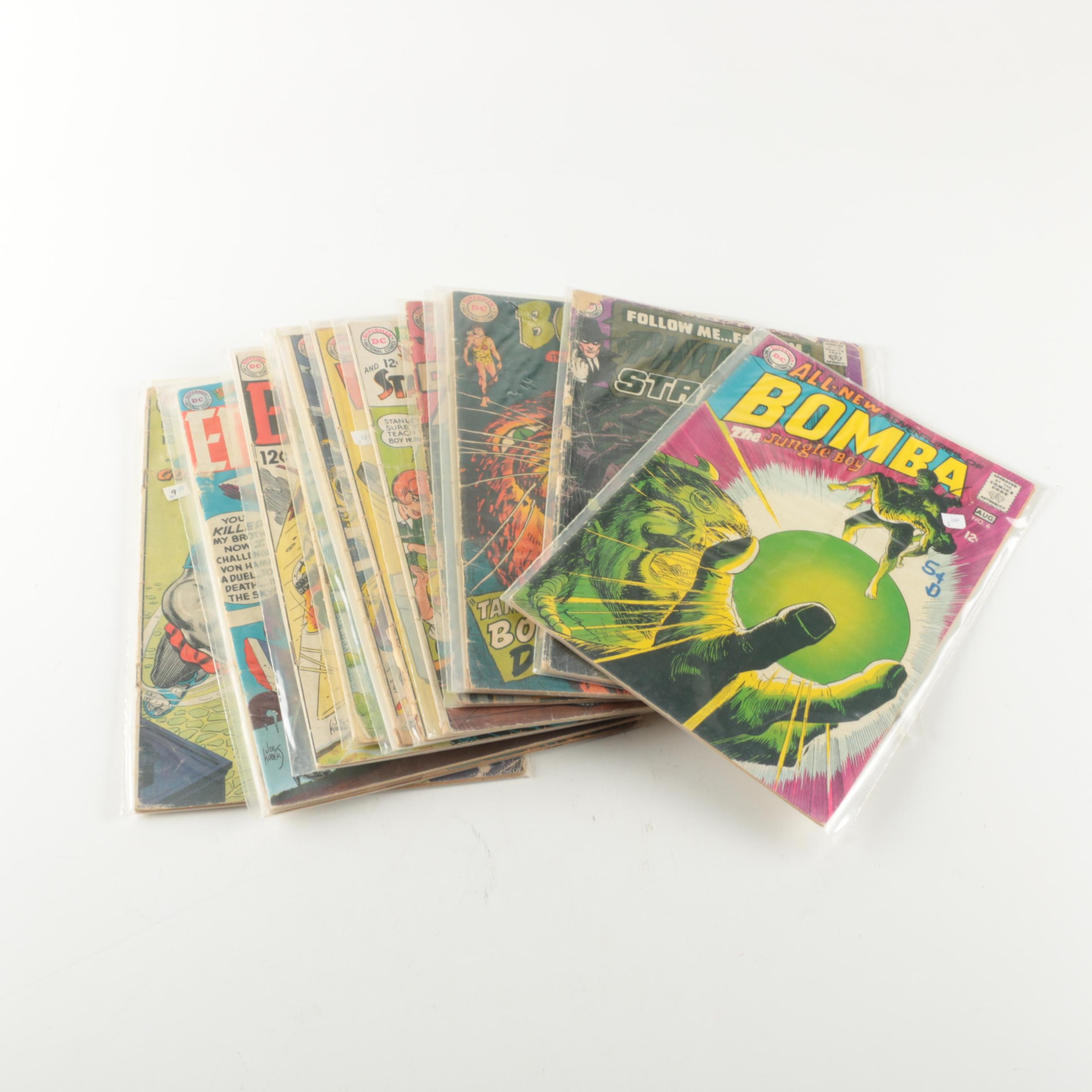 Assorted Vintage DC Comic Books