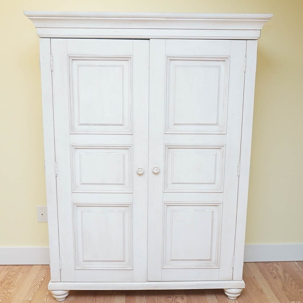 Quot New Country Quot Armoire Desk By Ethan Allen Ebth