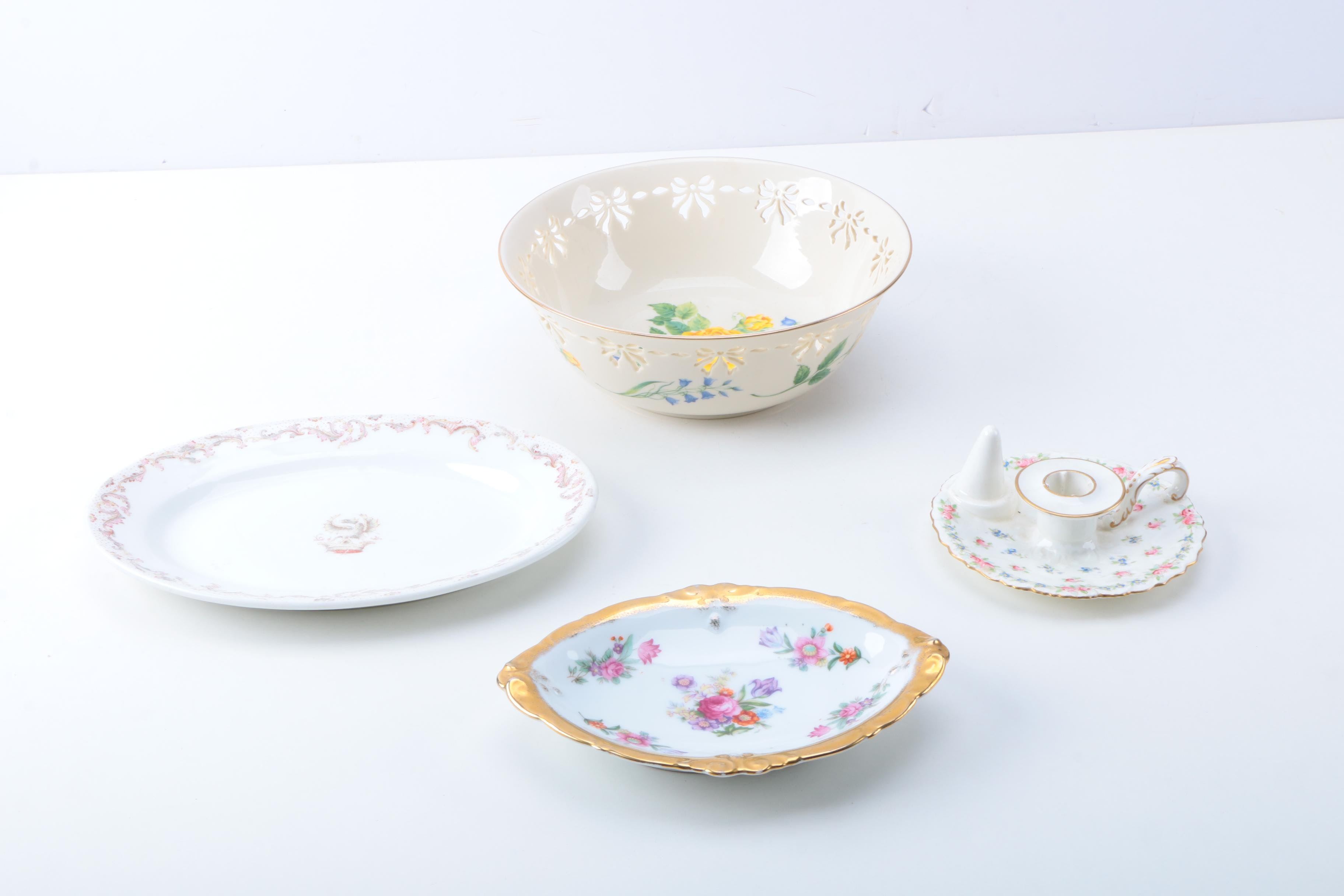 Porcelain Tableware and Decor Featuring Haviland