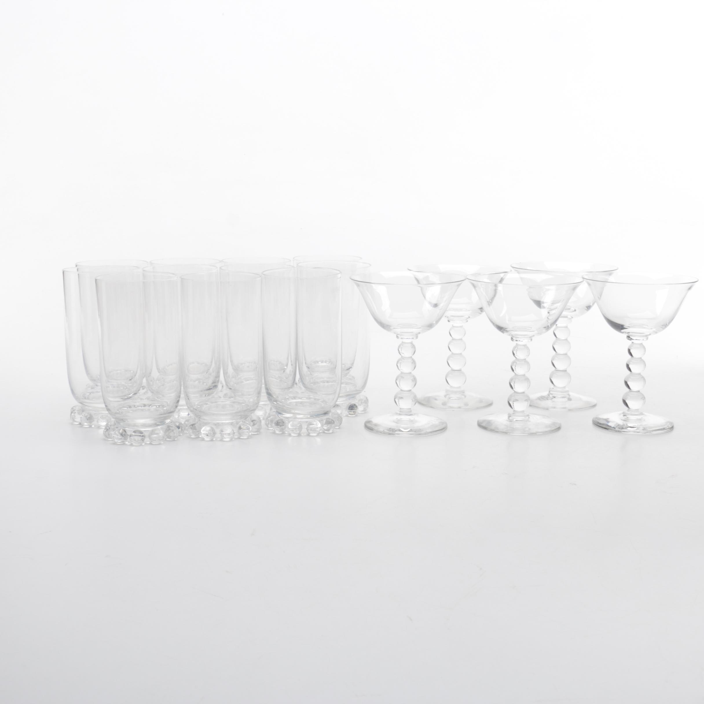 """Imperial Glass """"Candlewick"""" Glassware"""