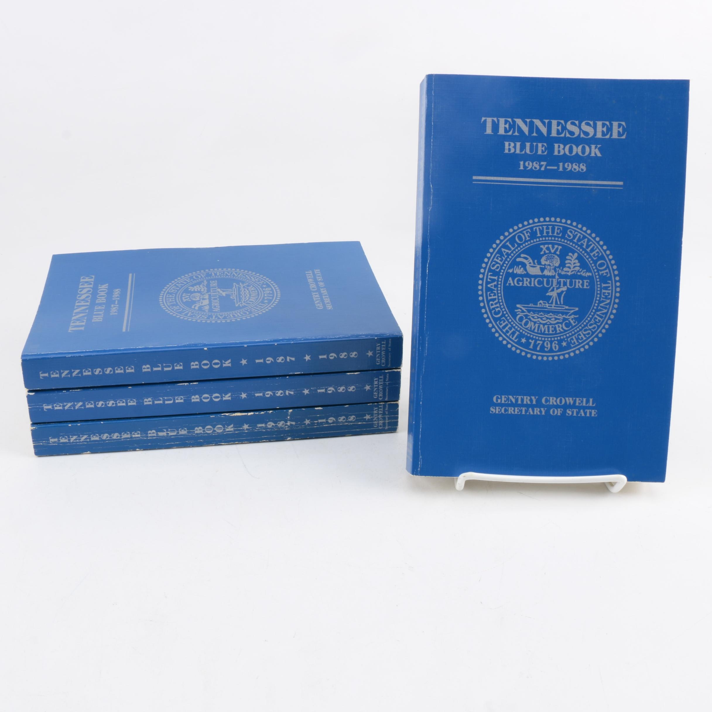 "Four ""Tennessee Blue Book"""
