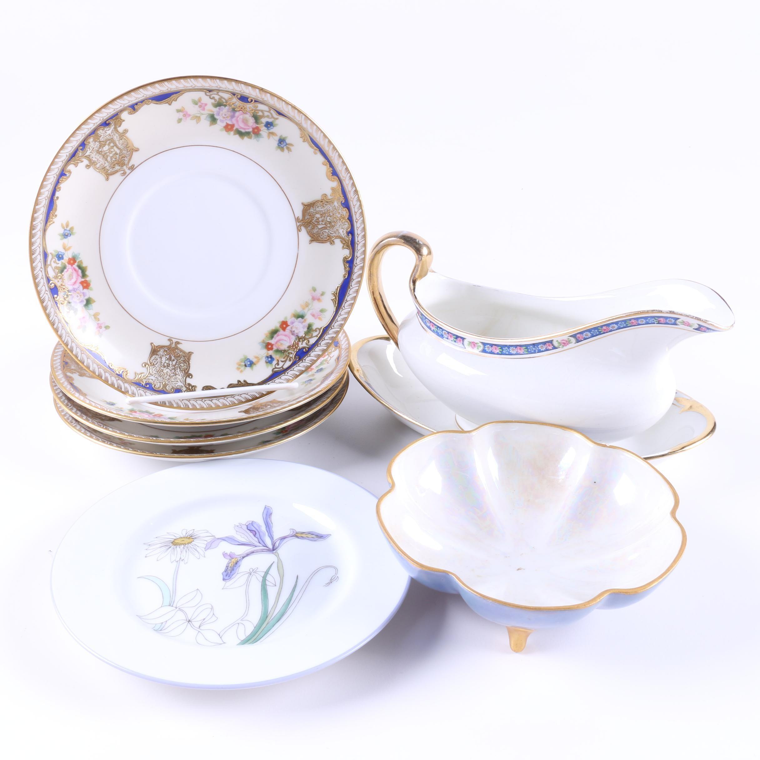 Ceramic Tableware including Vintage Noritake