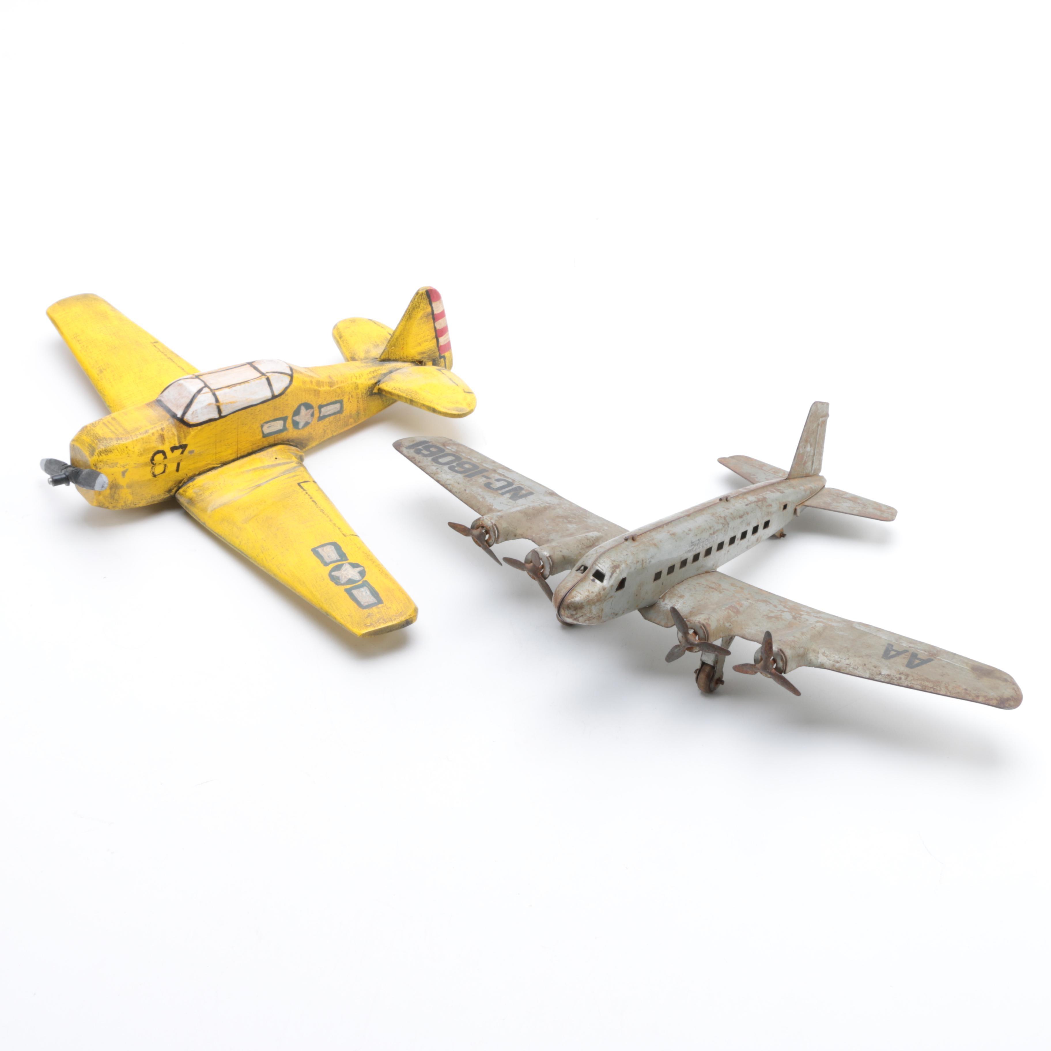 Pair of Model Planes