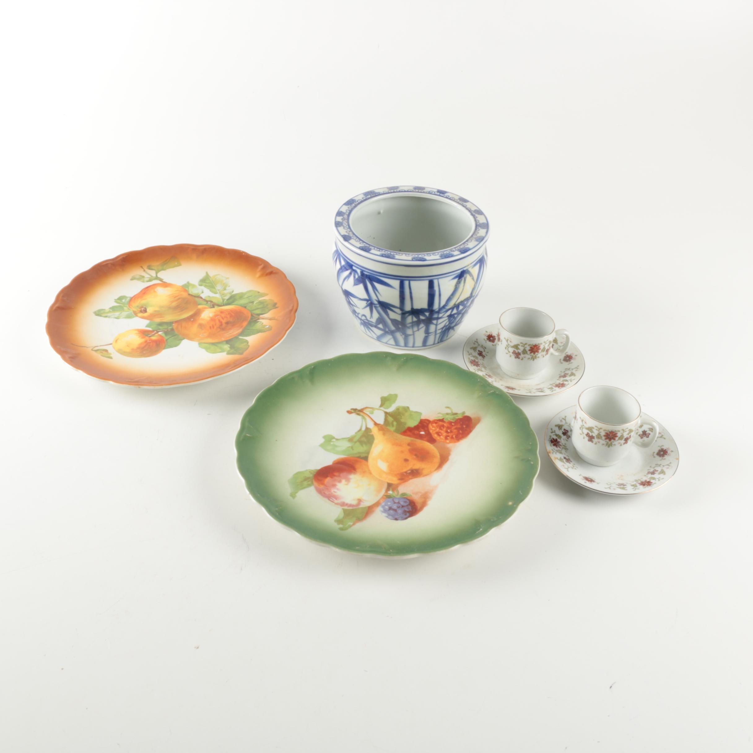 Ceramic Tableware including Petrus Regout & Co.