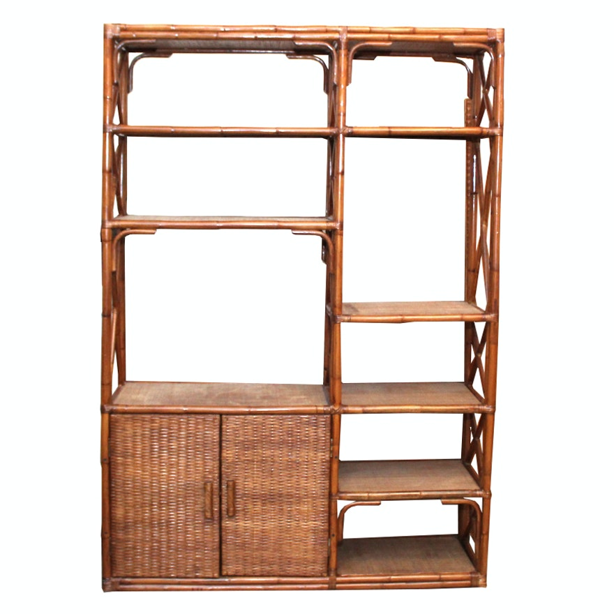 Bamboo Wall Unit / Room Divider : EBTH