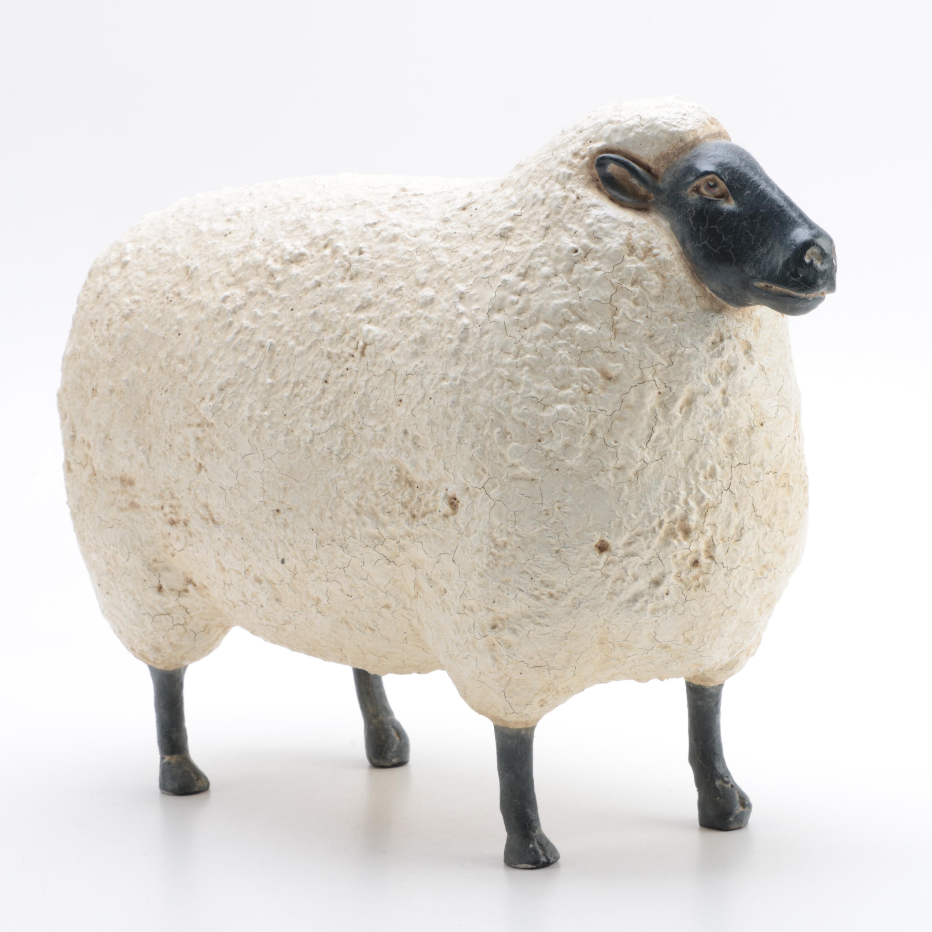 Decorative Sheep Figurine