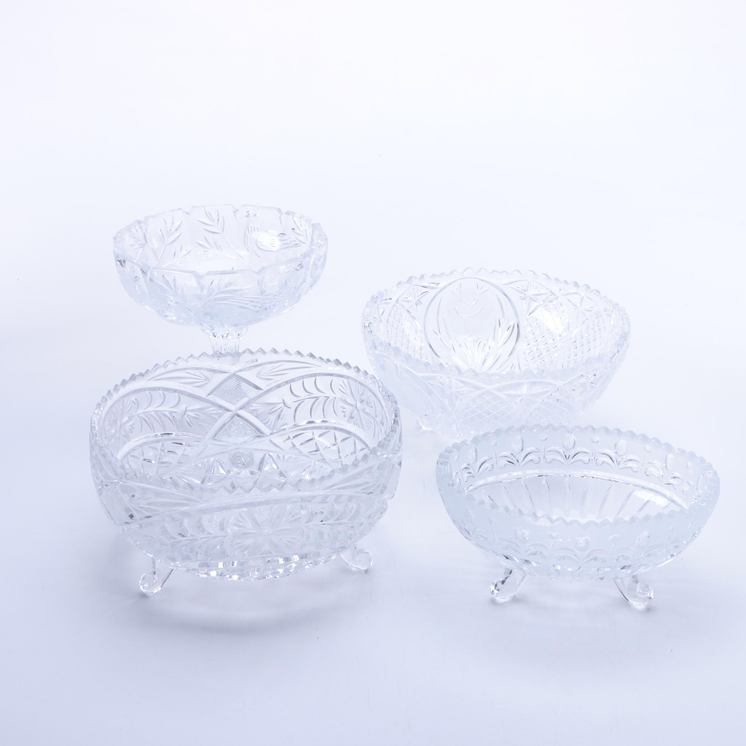 Cut Glass Tableware