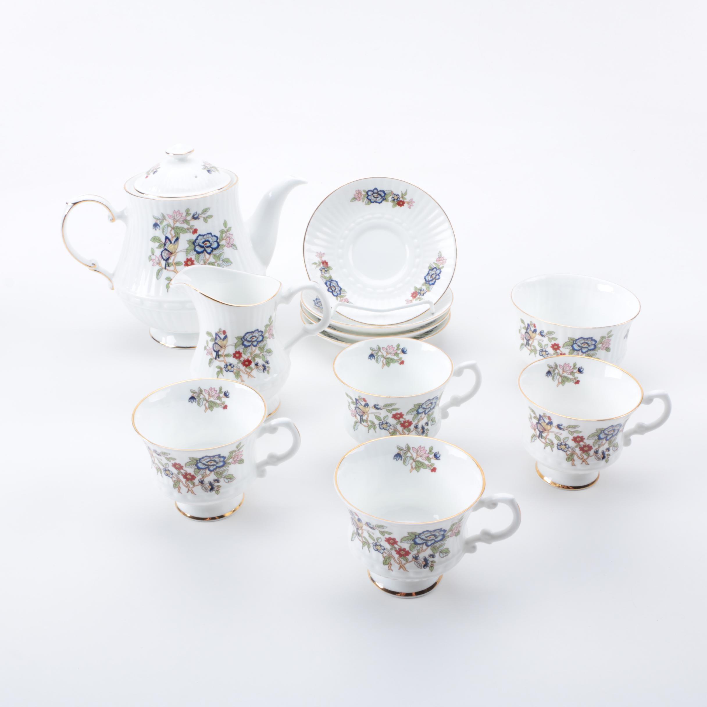 """Royal Tara """"Harmony"""" Fine Bone China Tea Service"""