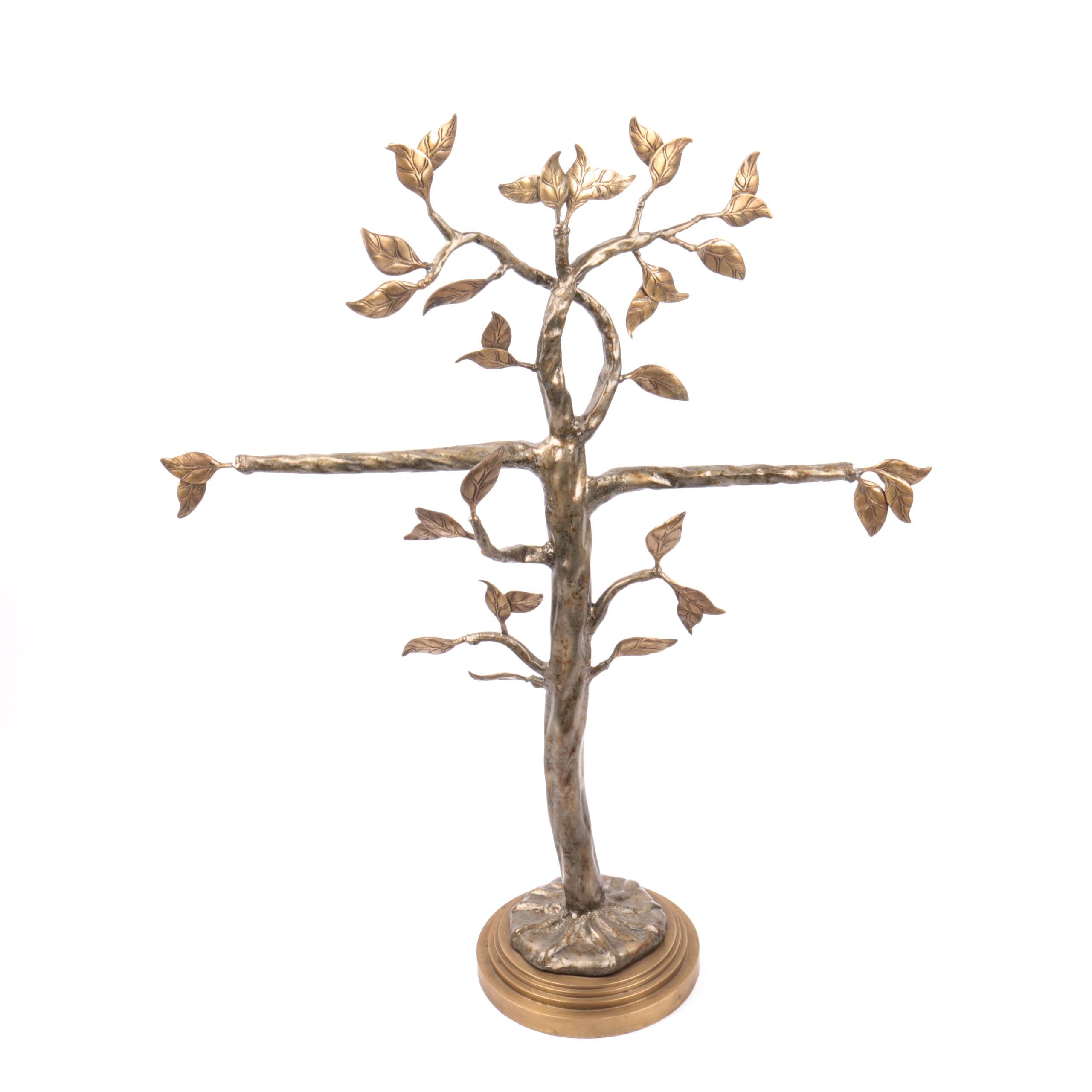 Maitland-Smith Brass Jewelry Tree