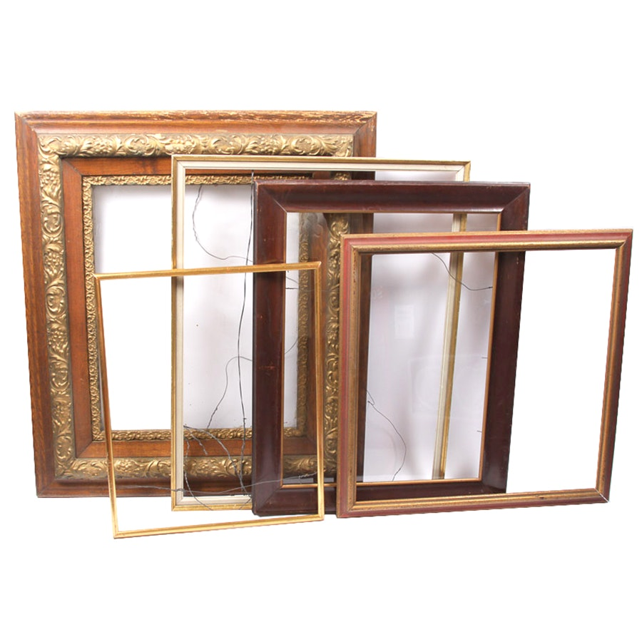Collection of Large Picture Frames