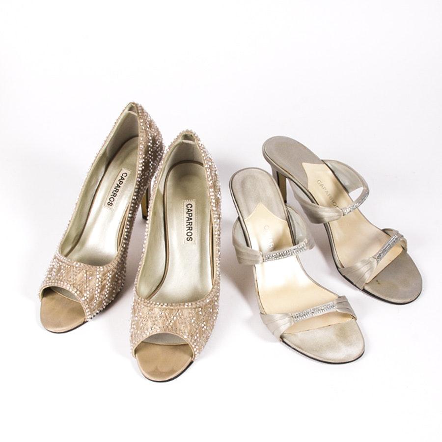 Women's Caparros Metallic Heels