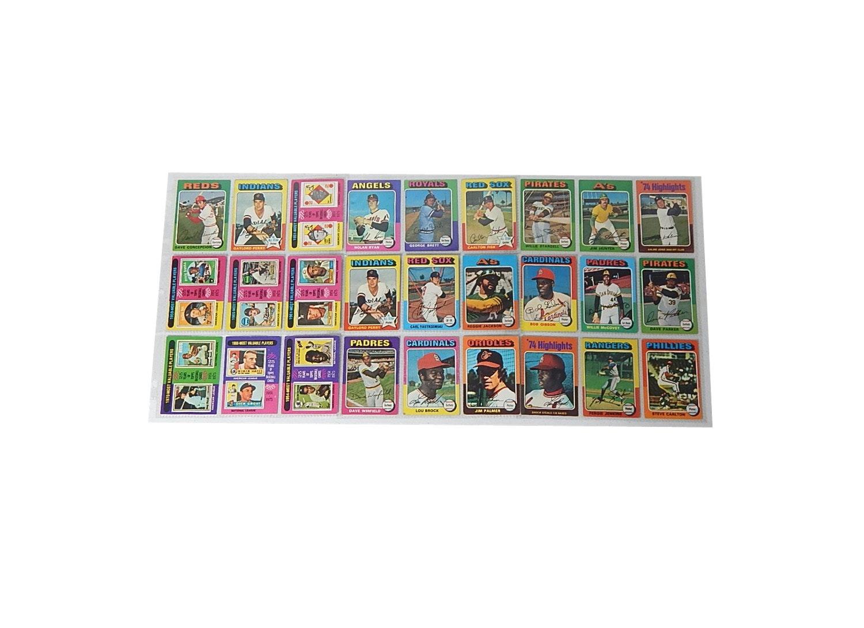 1975 Topps Baseball Star Card Lot