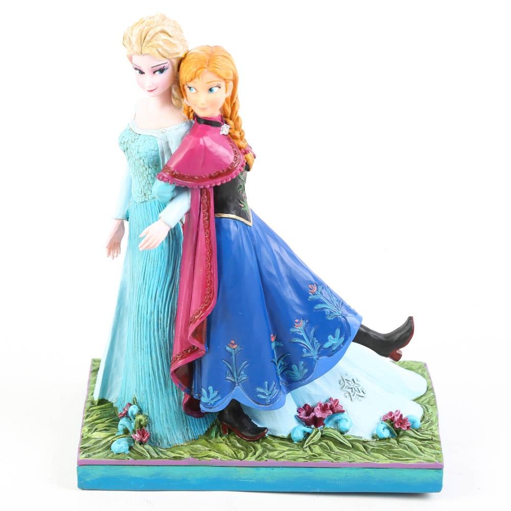 "Jim Shore Disney Showcase ""Sisters Forever"" Figurine"