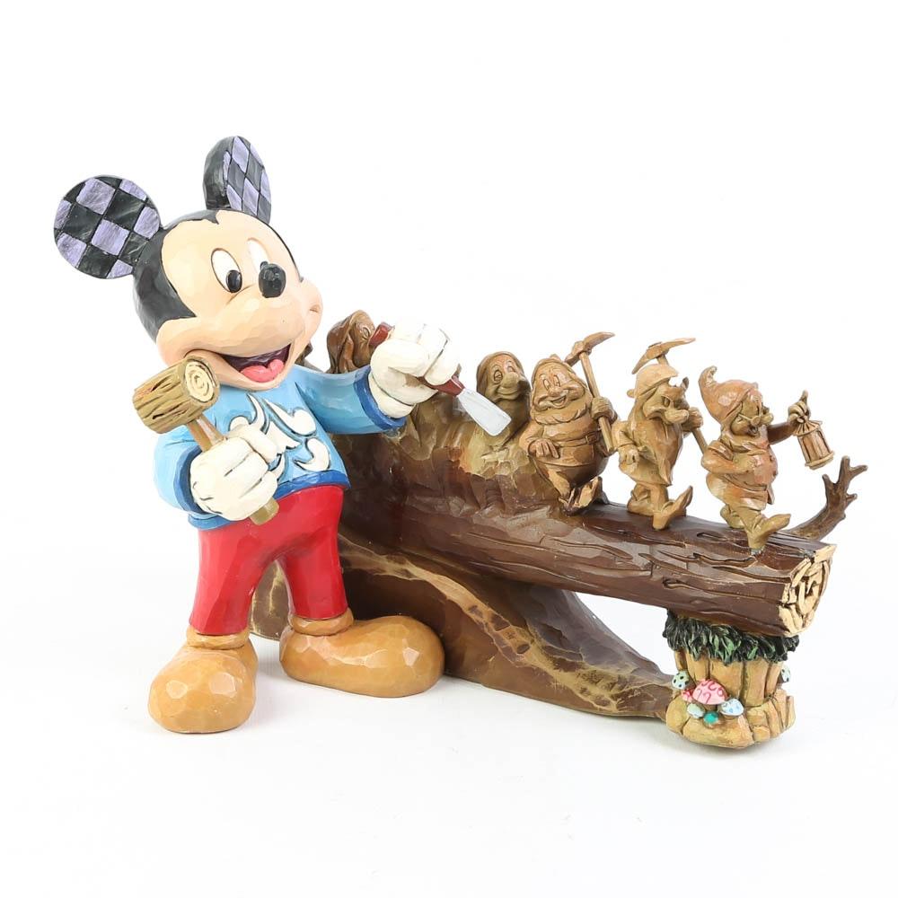 Jim Shore Disney Traditions Ten Year Anniversary Figurine