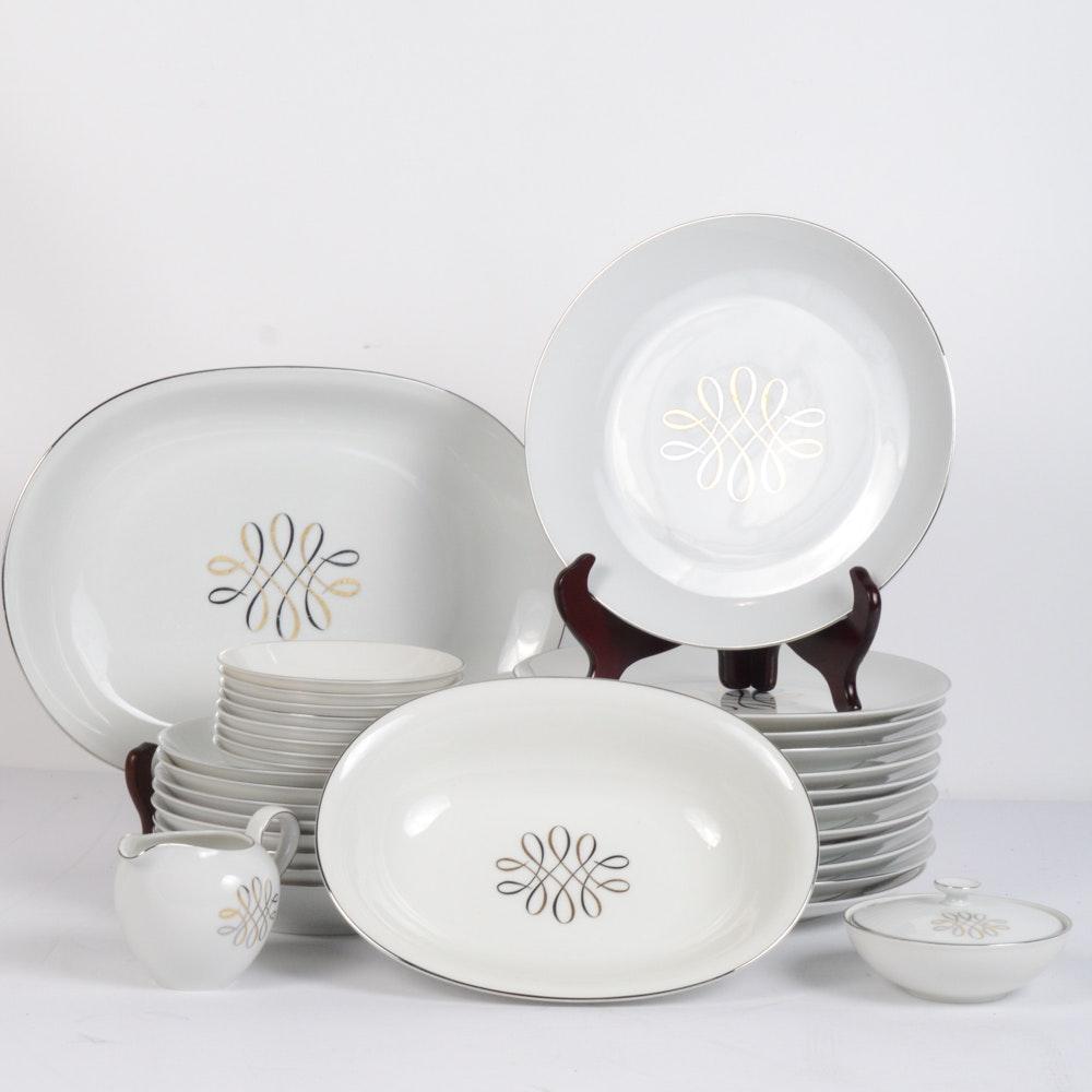 Mid-Century H&C Heinrich Dinnerware