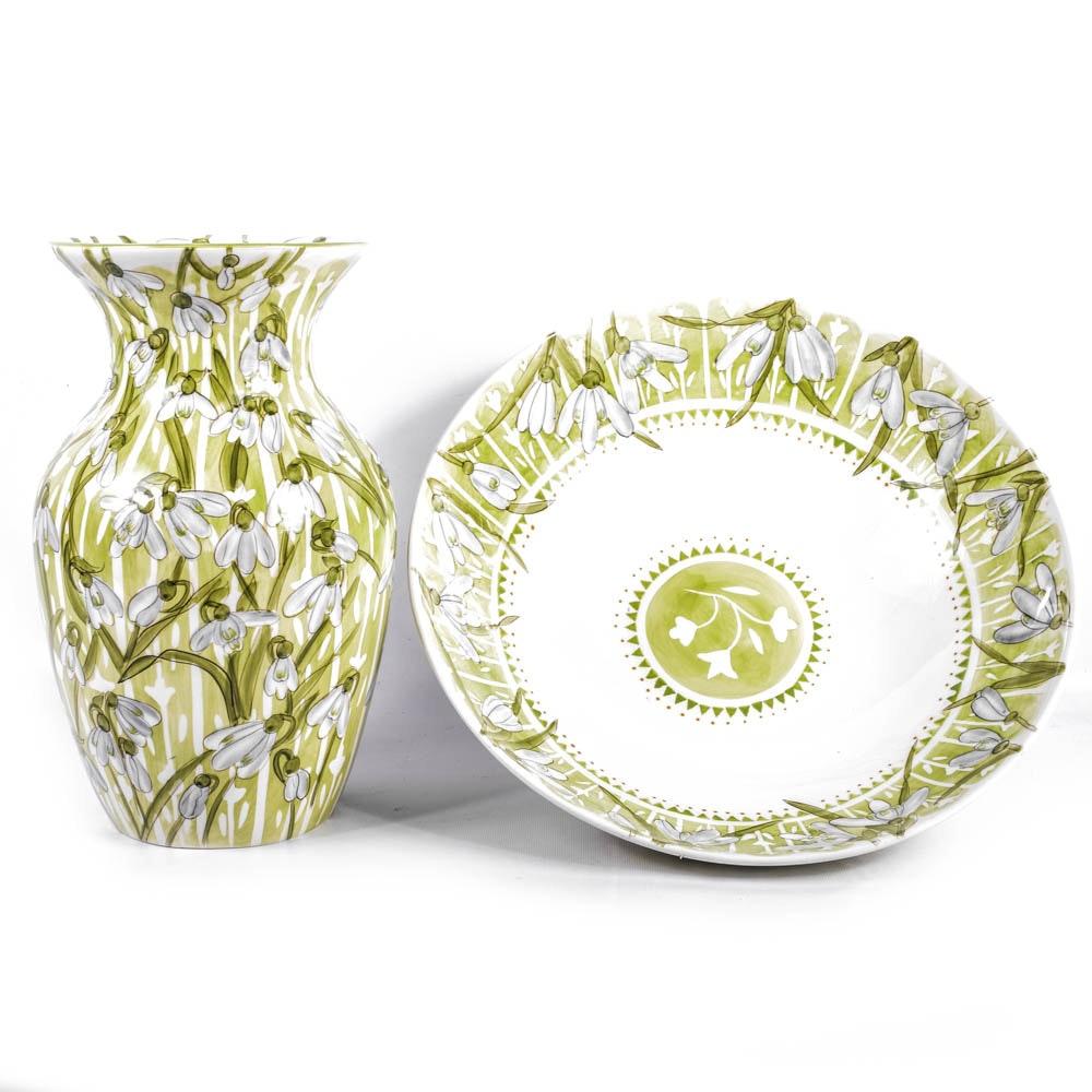 Nicola Wiehahn Hand Painted Ceramics for Hampton Mill : EBTH