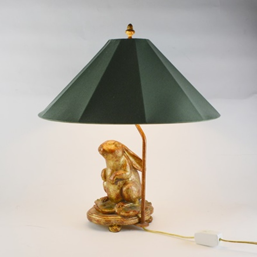 Frederick cooper rabbit table lamp ebth frederick cooper rabbit table lamp aloadofball Image collections