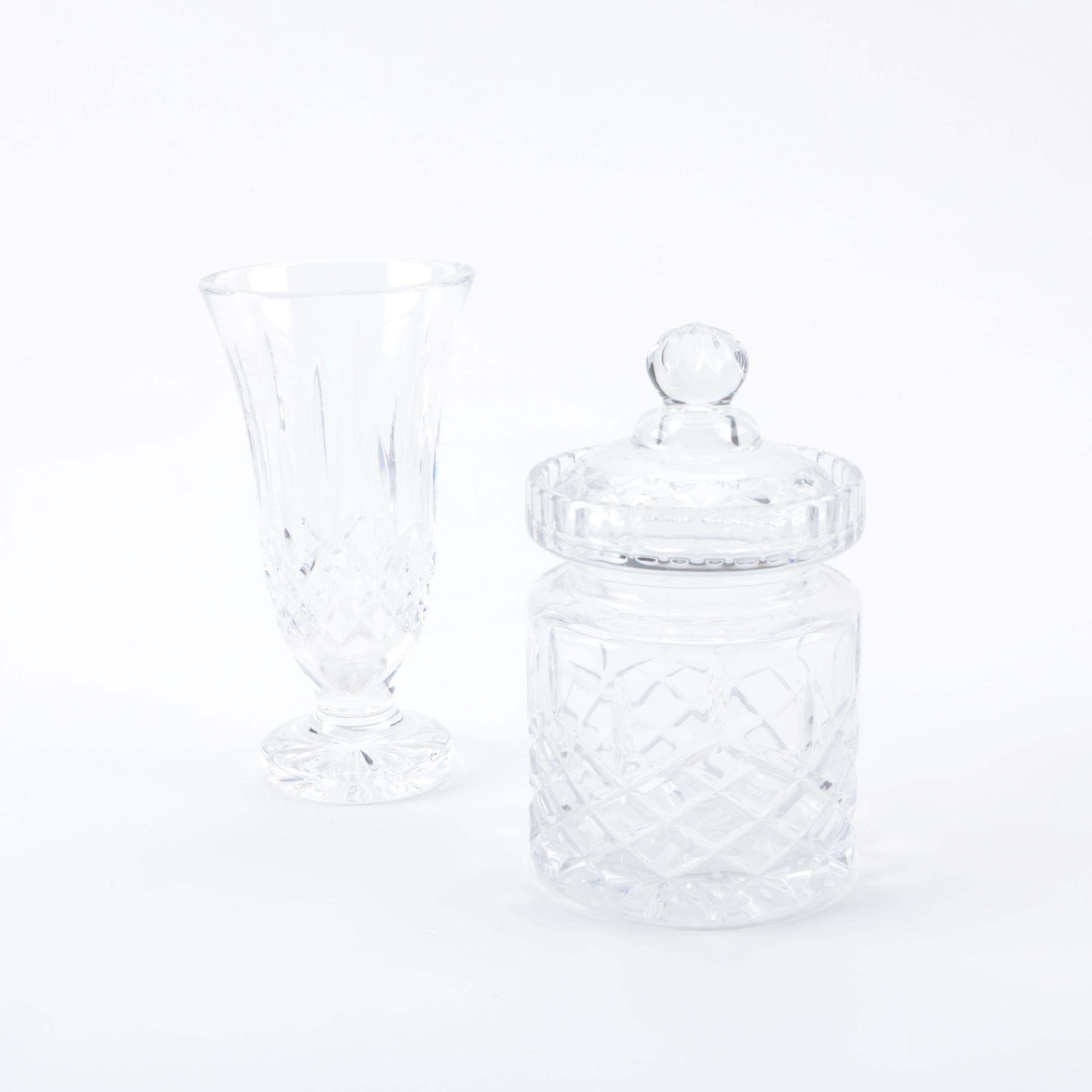 Assortment of Crystal Decor Including Waterford