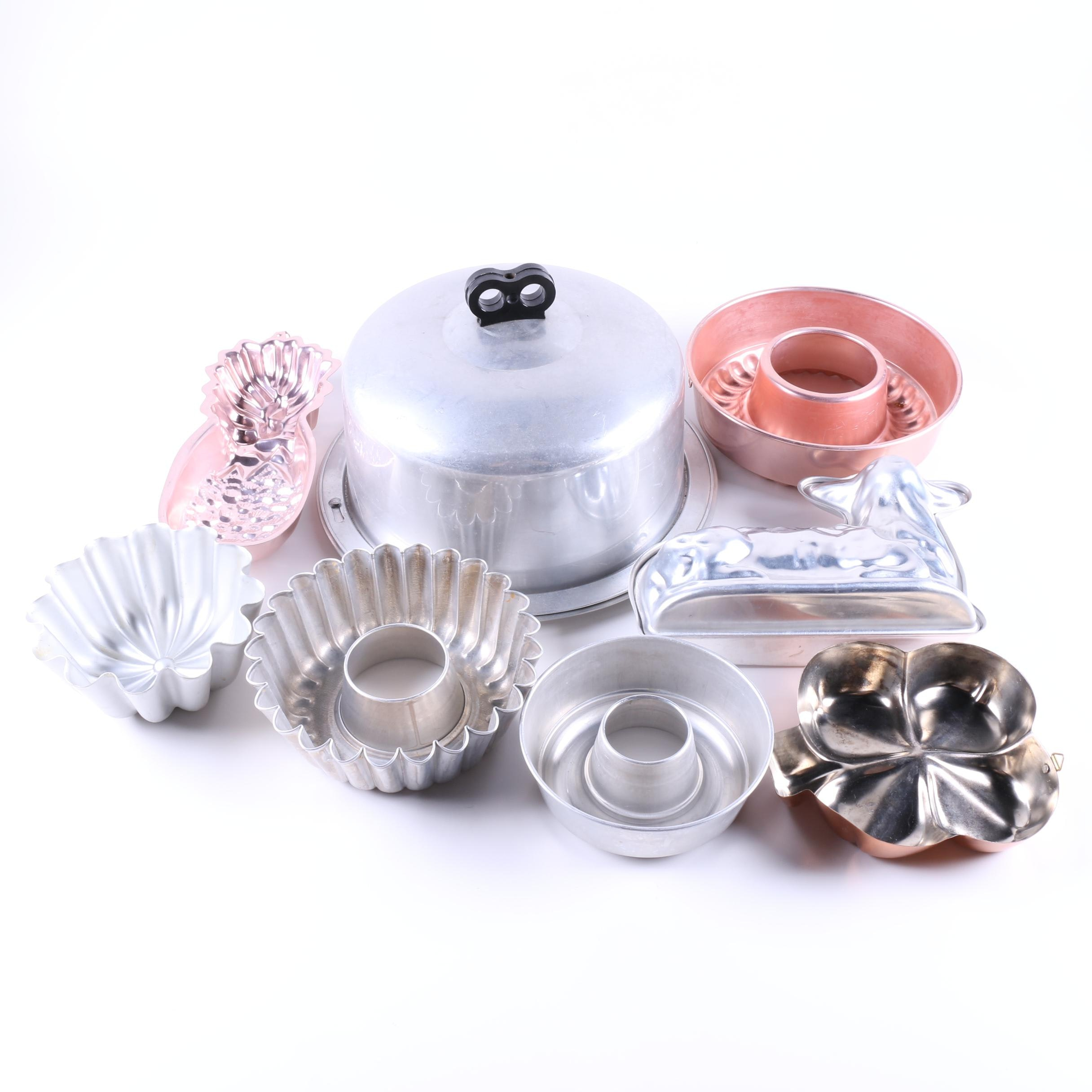 Metal Baking Pans and Molds