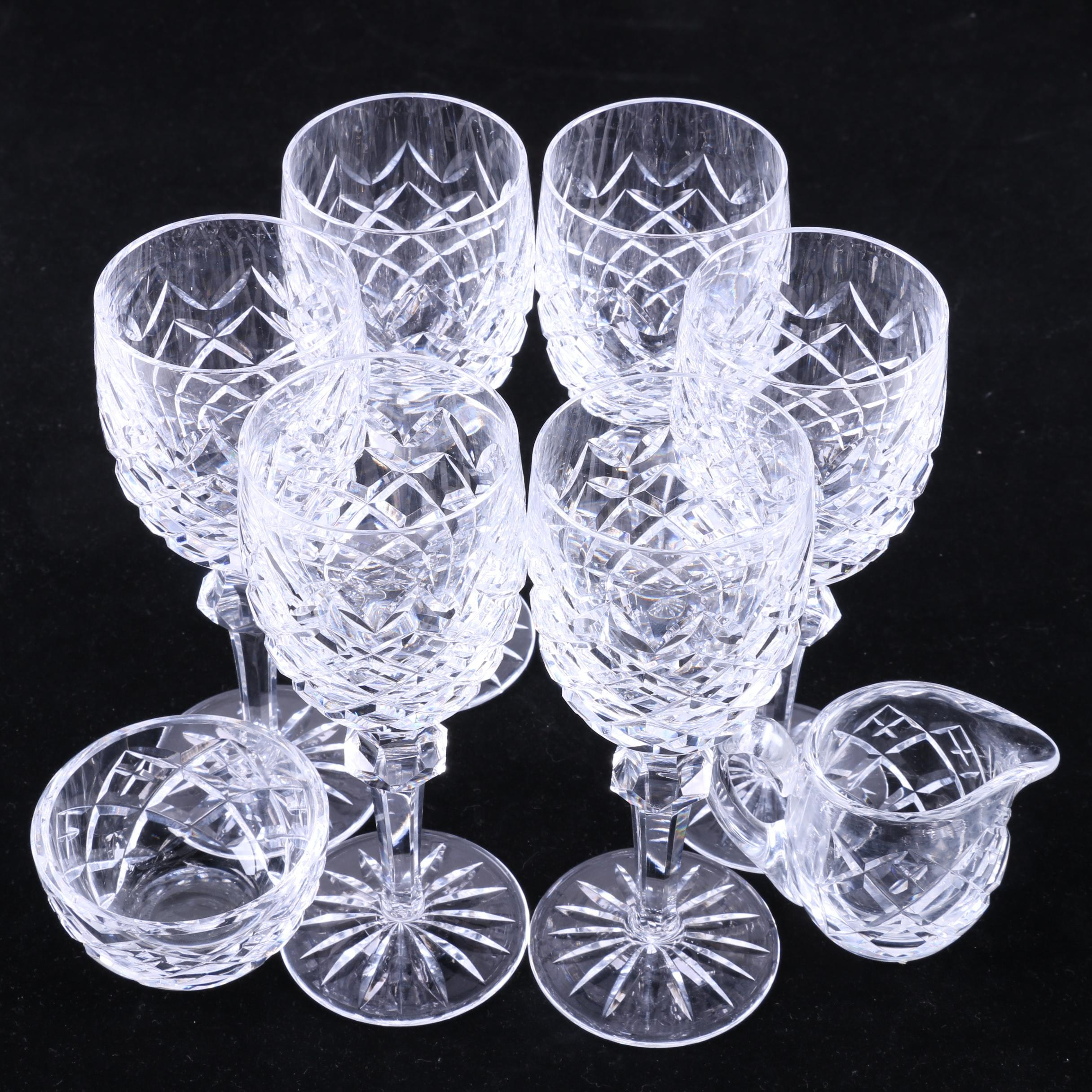 "Waterford Crystal ""Powerscourt"" Stemware and Serveware"