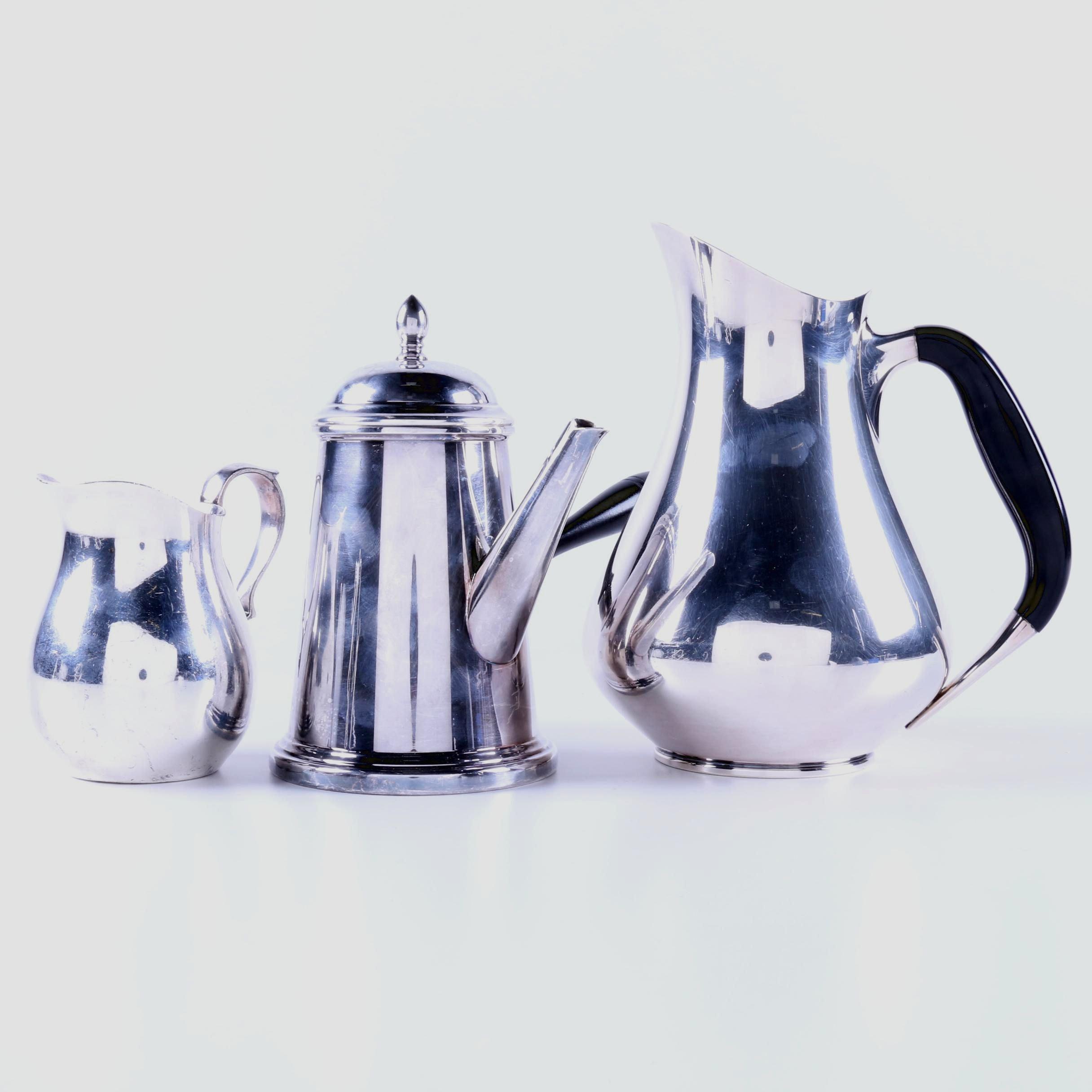 Silver Plate Servingware Featuring Friedman Silver Co.