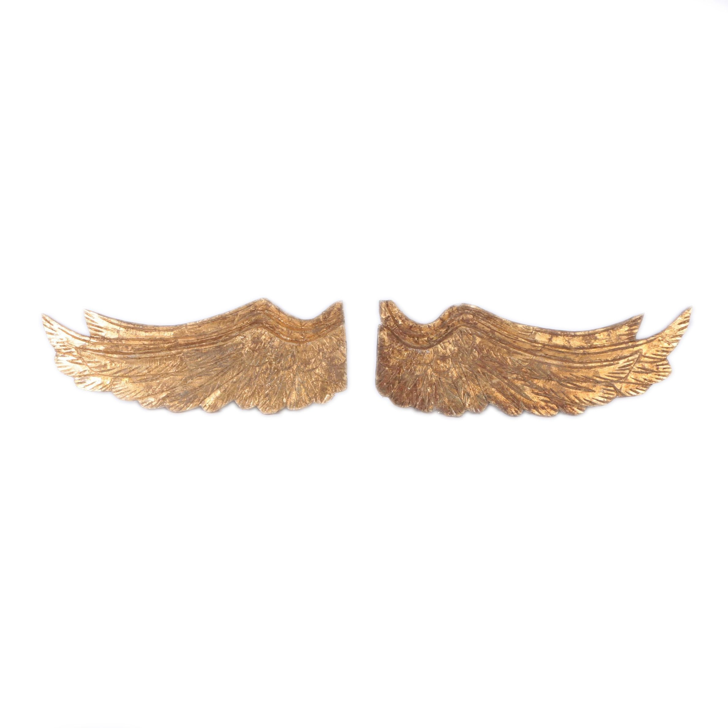 Gold Foil Decorative Wooden Wings