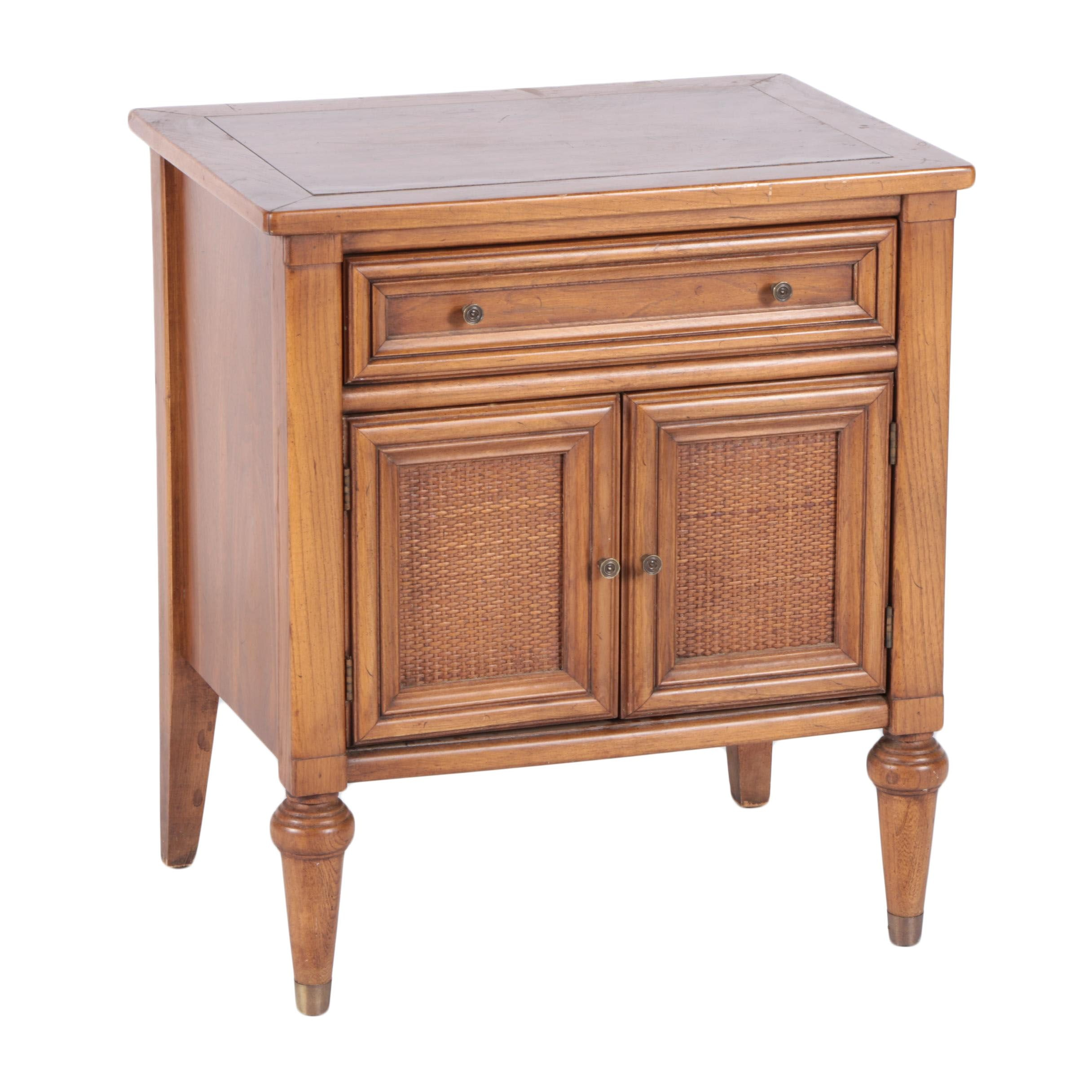 Vintage Butternut Nightstand By White Furniture Company ...